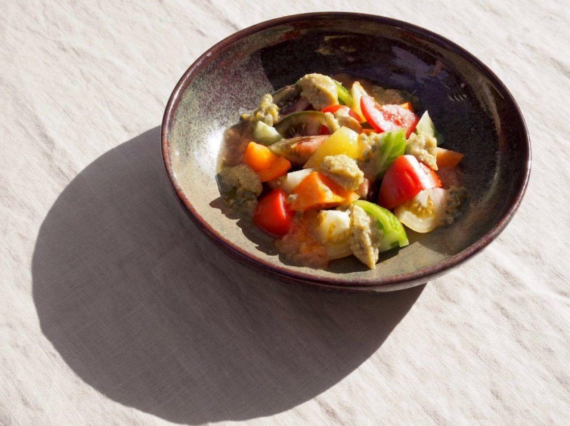 Foodblog Foodblogger About Fuel Fabian Dietrich Bunter Tomatensalat