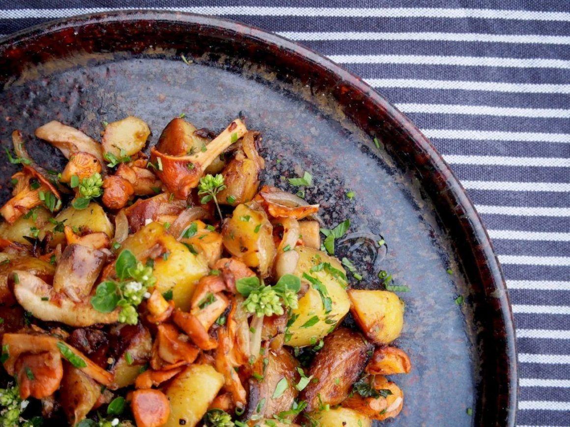 Foodblog Foodblogger About Fuel Fabian Dietrich Kartoffel Waldpilzpfanne