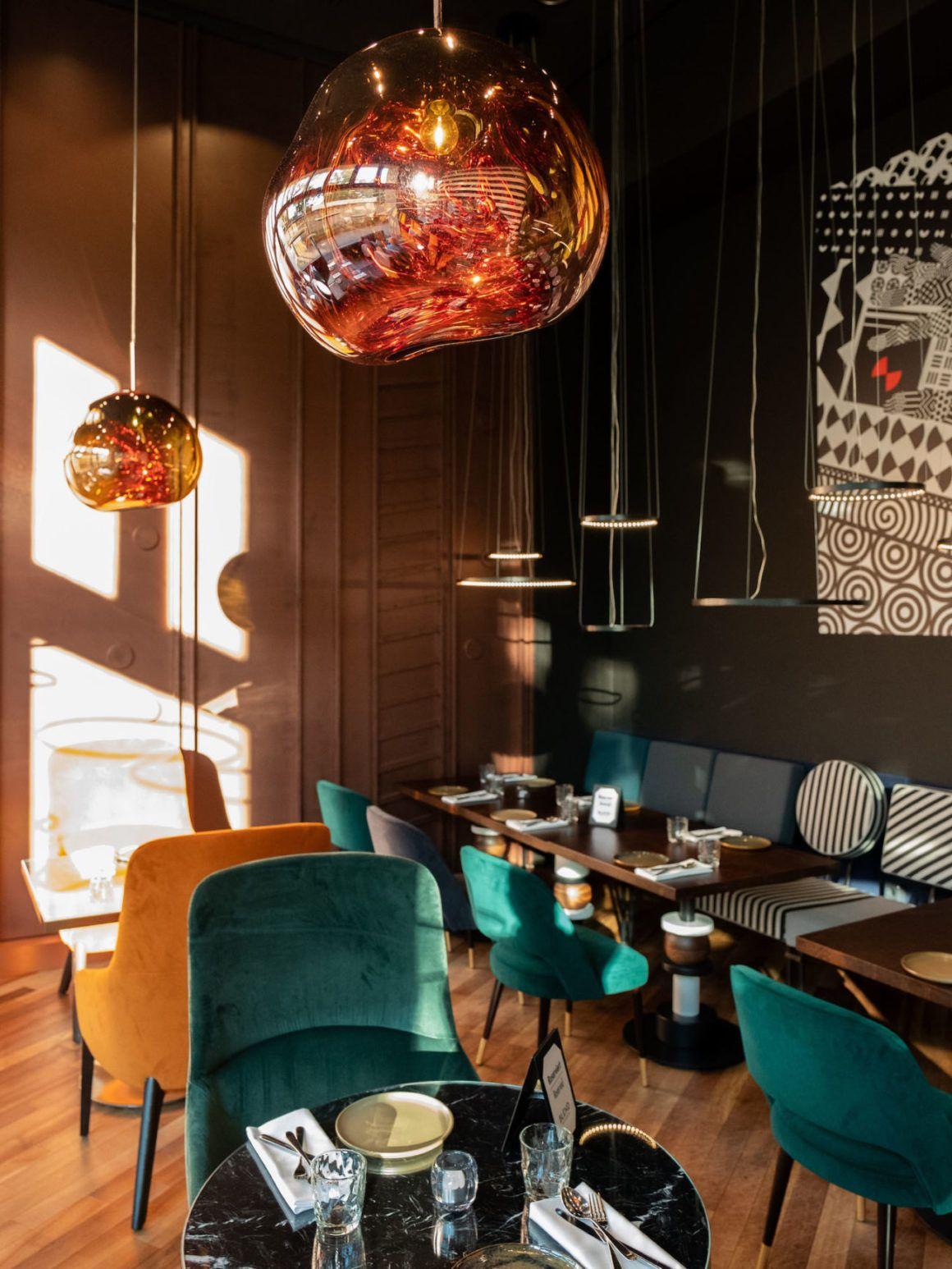 Foodblog Blend Berlin Interieur Lampe