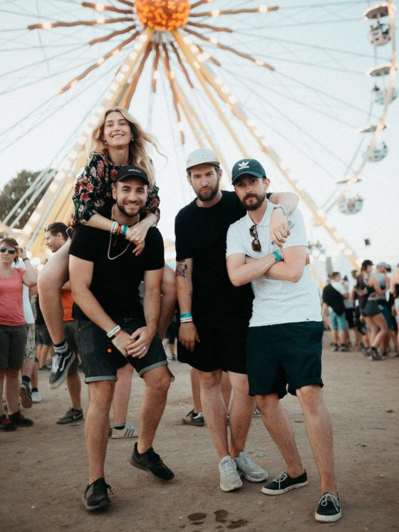 Erik Rosenberg Highfield Festival Platzhirsch Jägermeister Crew Blog Bohème Michael Ankermüller