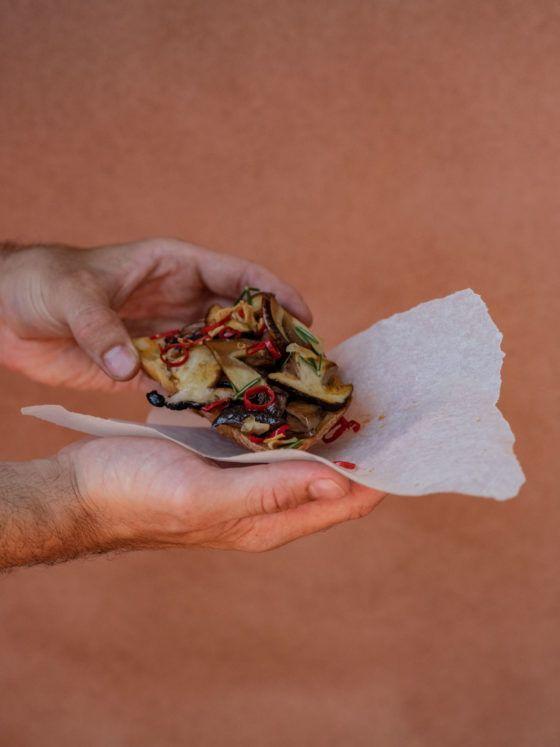 About Fuel Steinpilz Bruschetta Steinpilze Brot Backpapier Rezept