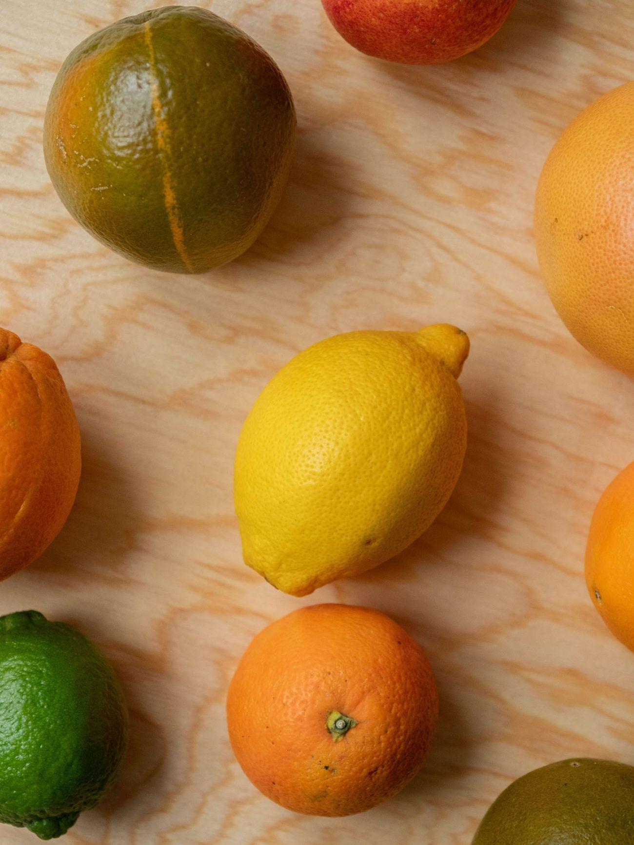 Rezept_Zitrussalat mit Avocado und Pistaziendressing, Zitrone, Limette, Orange, Pomelo