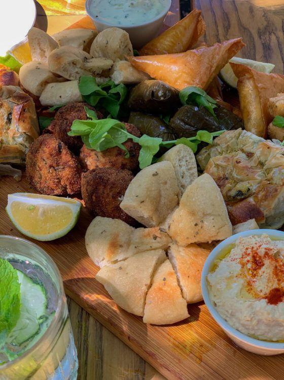 Kapstadt, Marias Greek Cafe, Mezze, Pita, hummus, Zaziki