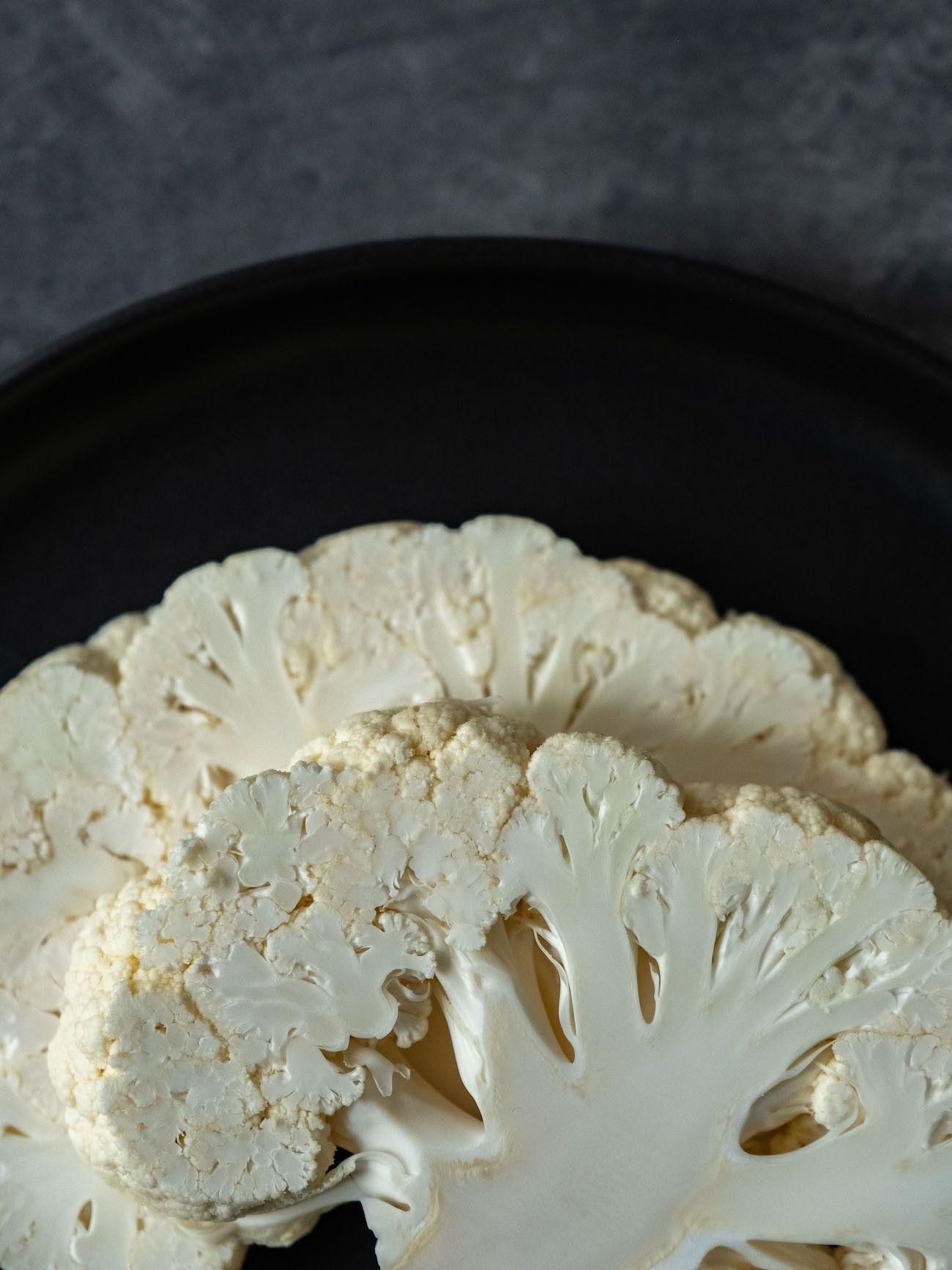 Foodblog, Rezept Blumenkohl Dreierlei, Roh