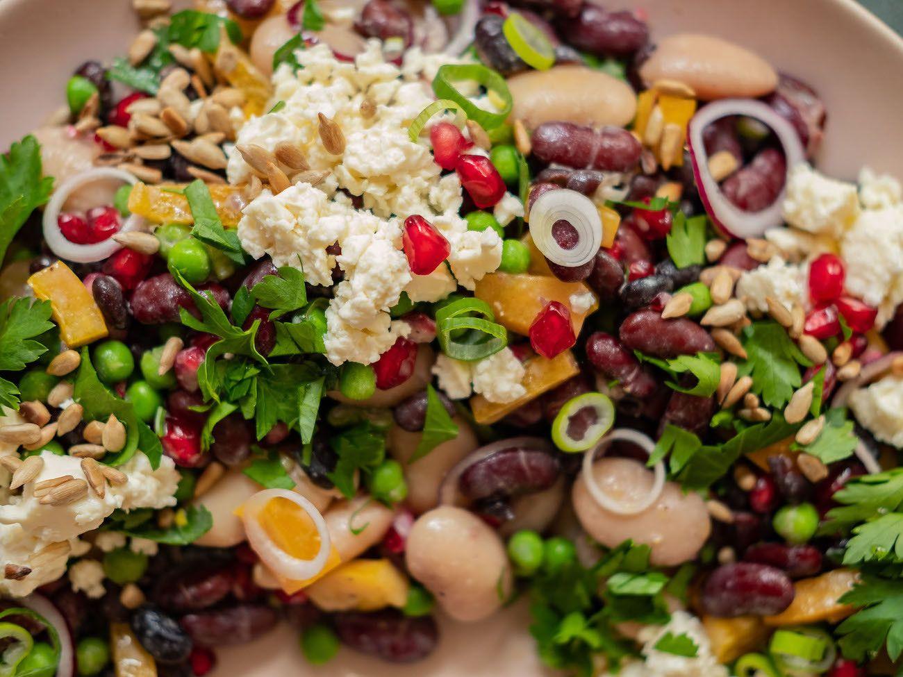 Foodblog, Rezept Bohnensalat, Zwiebeln