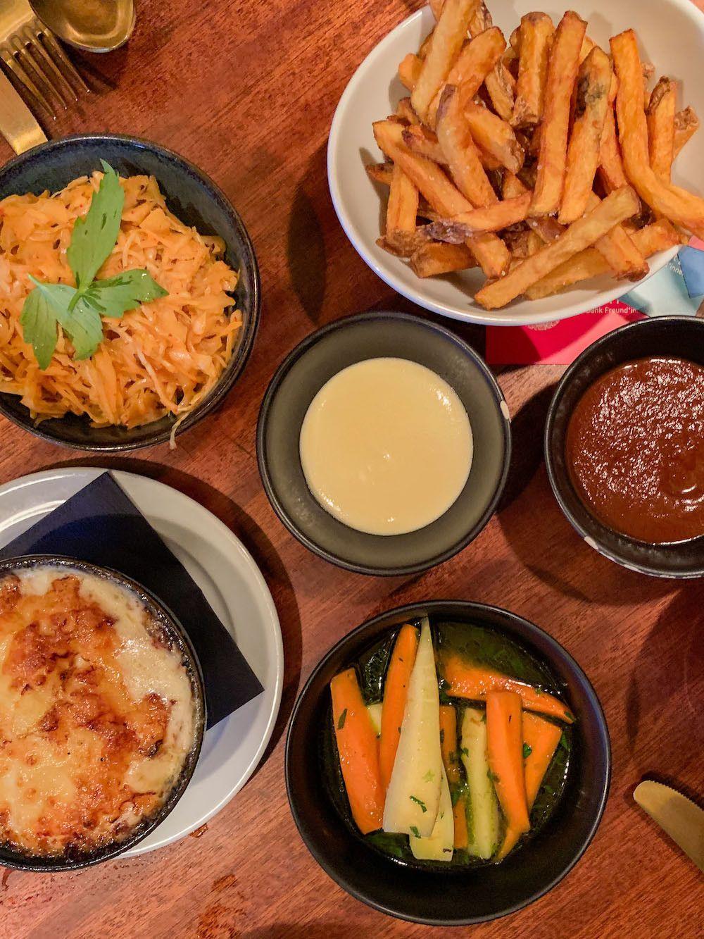 Foodblogog, Leckerbissen, Crackers, Beilagen, Fries, Gratin