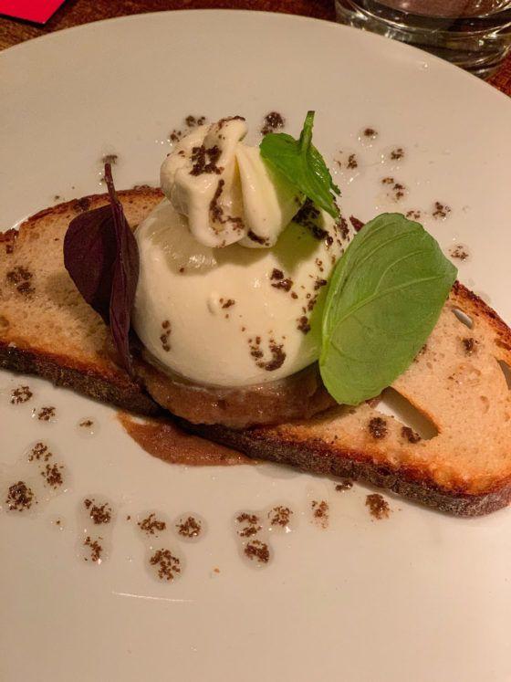 Foodblogog, Leckerbissen, Crackers, Burrata, Trüffel, Brot