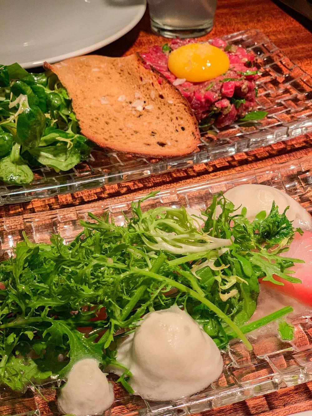 Foodblogog, Leckerbissen, Crackers, Ceviche, King Fish, Meerettich