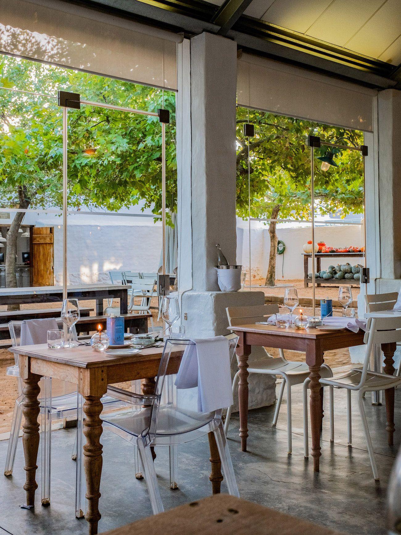 Weinguide Stellenbosch, Babylonstoren, Babel, Restaurant, Südafrika