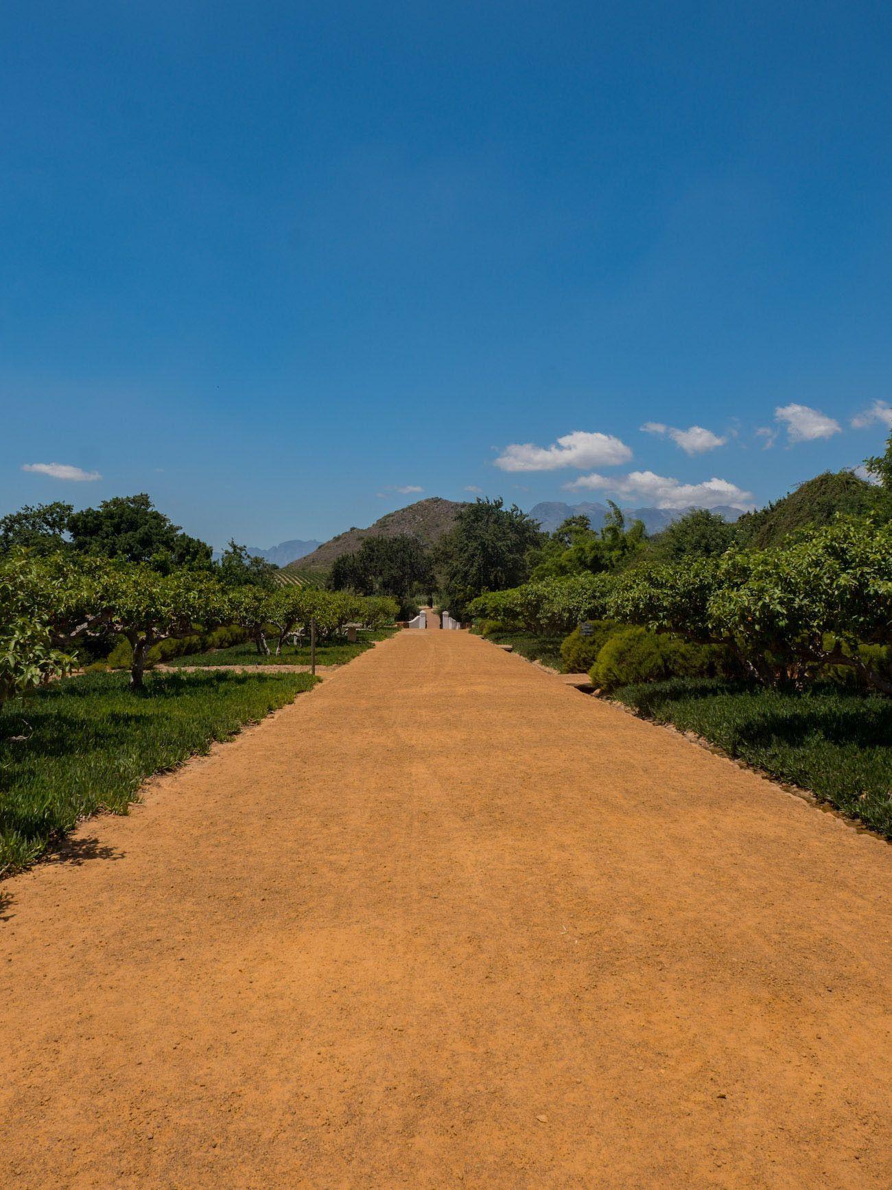 Weinguide Stellenbosch, Babylonstoren, Garten