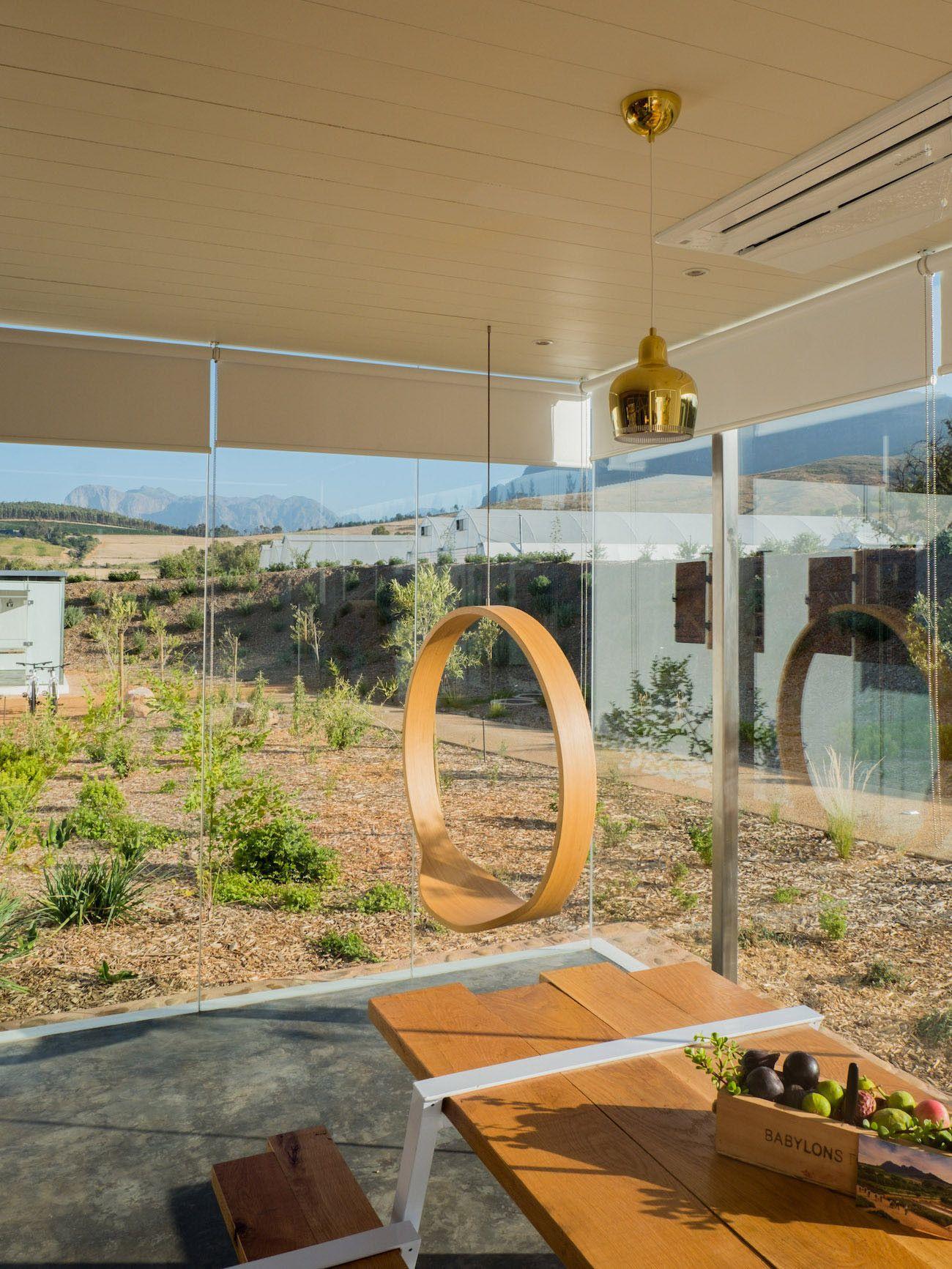 Weinguide Stellenbosch, Babylonstoren, Küche, Schaukel