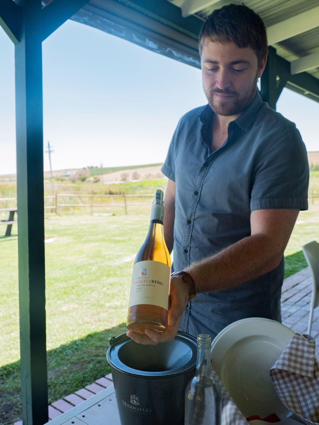 Weinguide Stellenbosch, Middelvlei, Rose, Wein, Ben