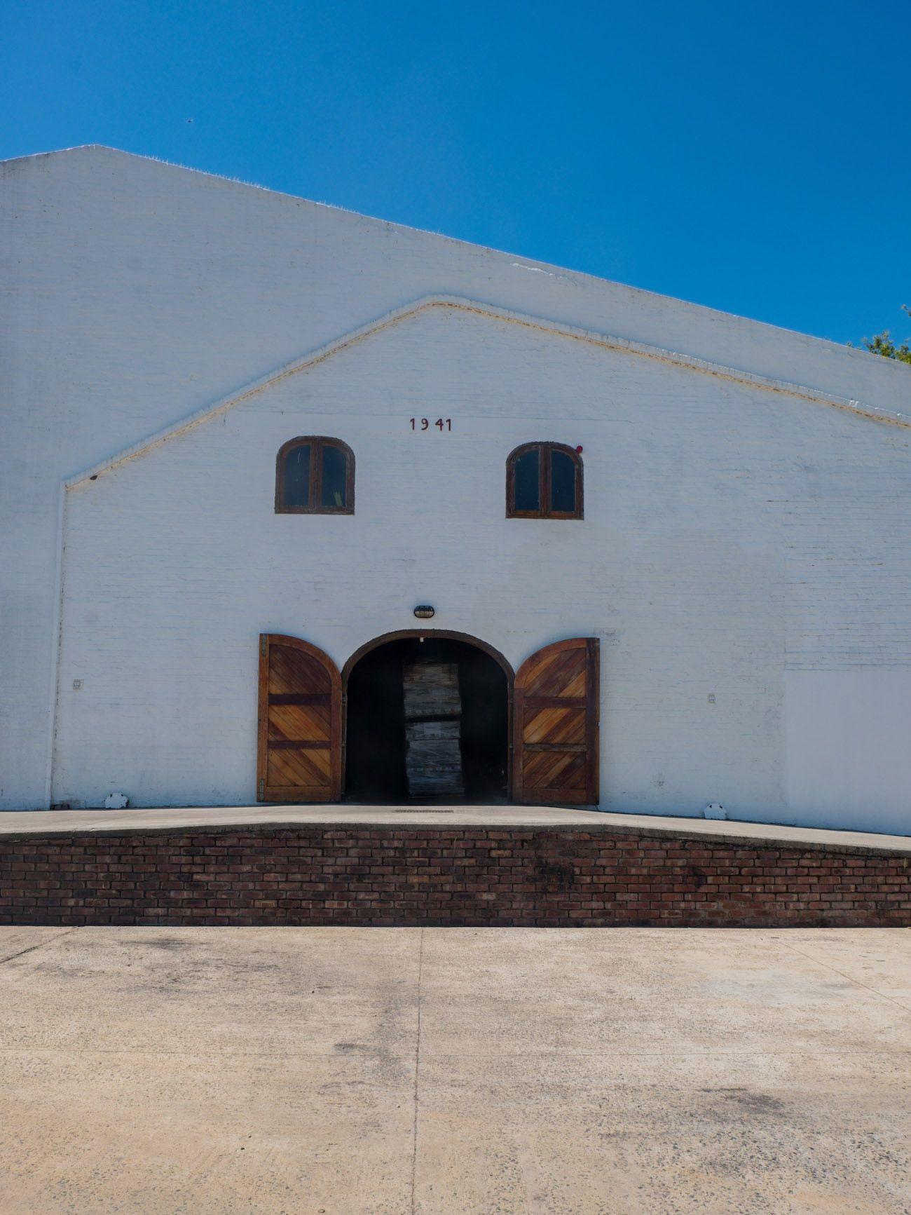 Weinguide Stellenbosch, Middelvlei, Weinkeller