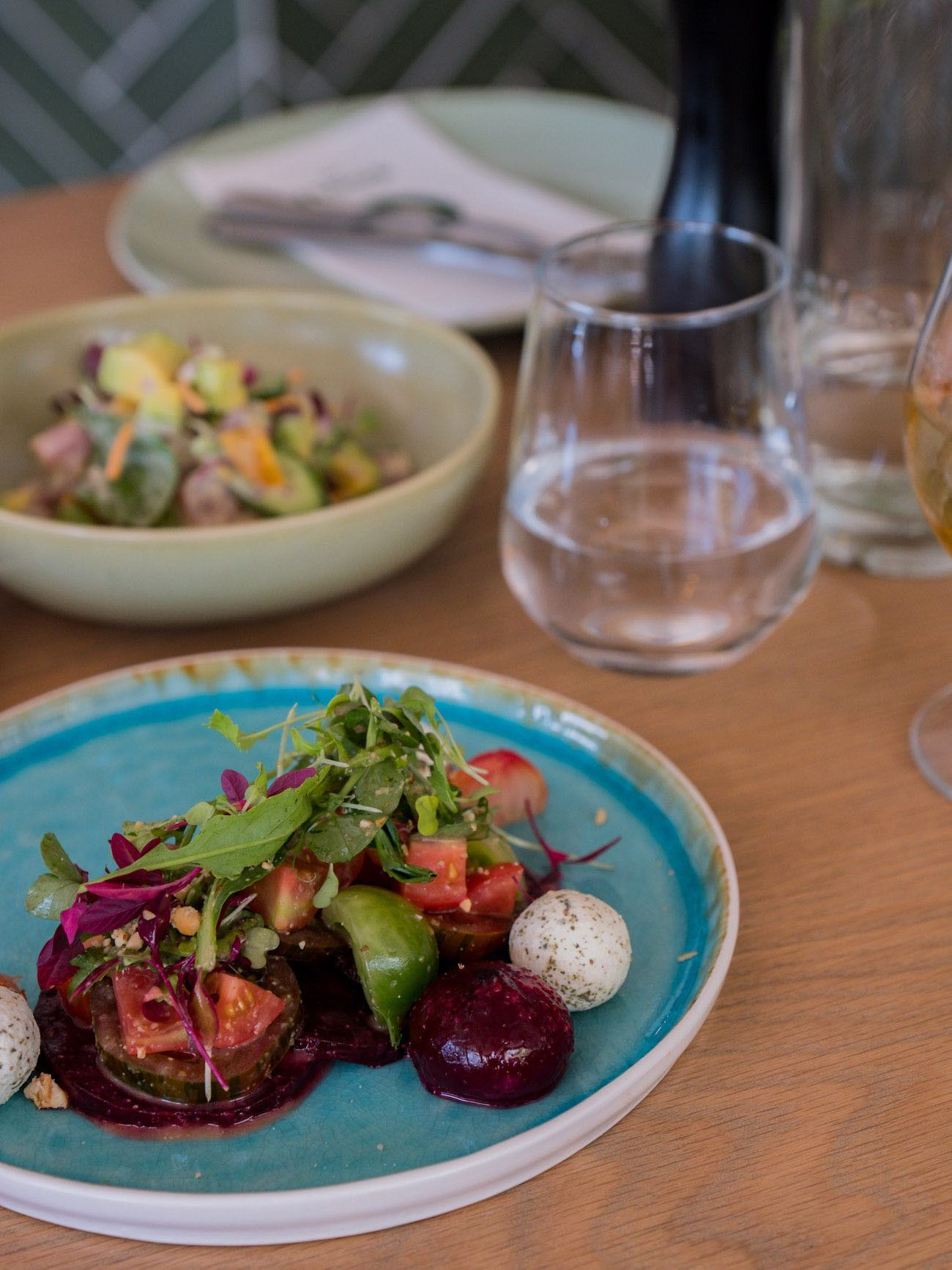 Weinguide Stellenbosch, The Green Goose Eatery, Rote Beete, Vorspeise, Salat