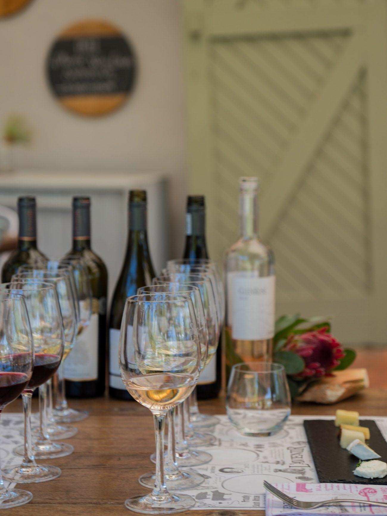 Weinguide Stellenbosch, l'Avenir, Weinprobe, Rose