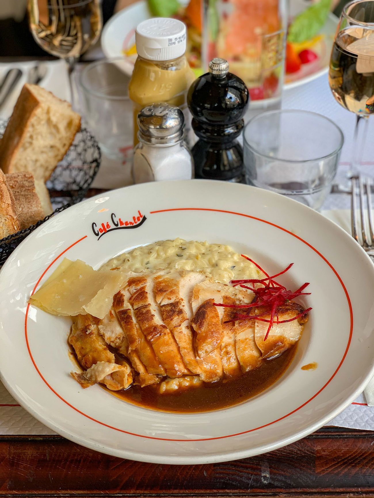 Foodblog About Fuel, Paris, Cafe Charlot, Risotto, Senf