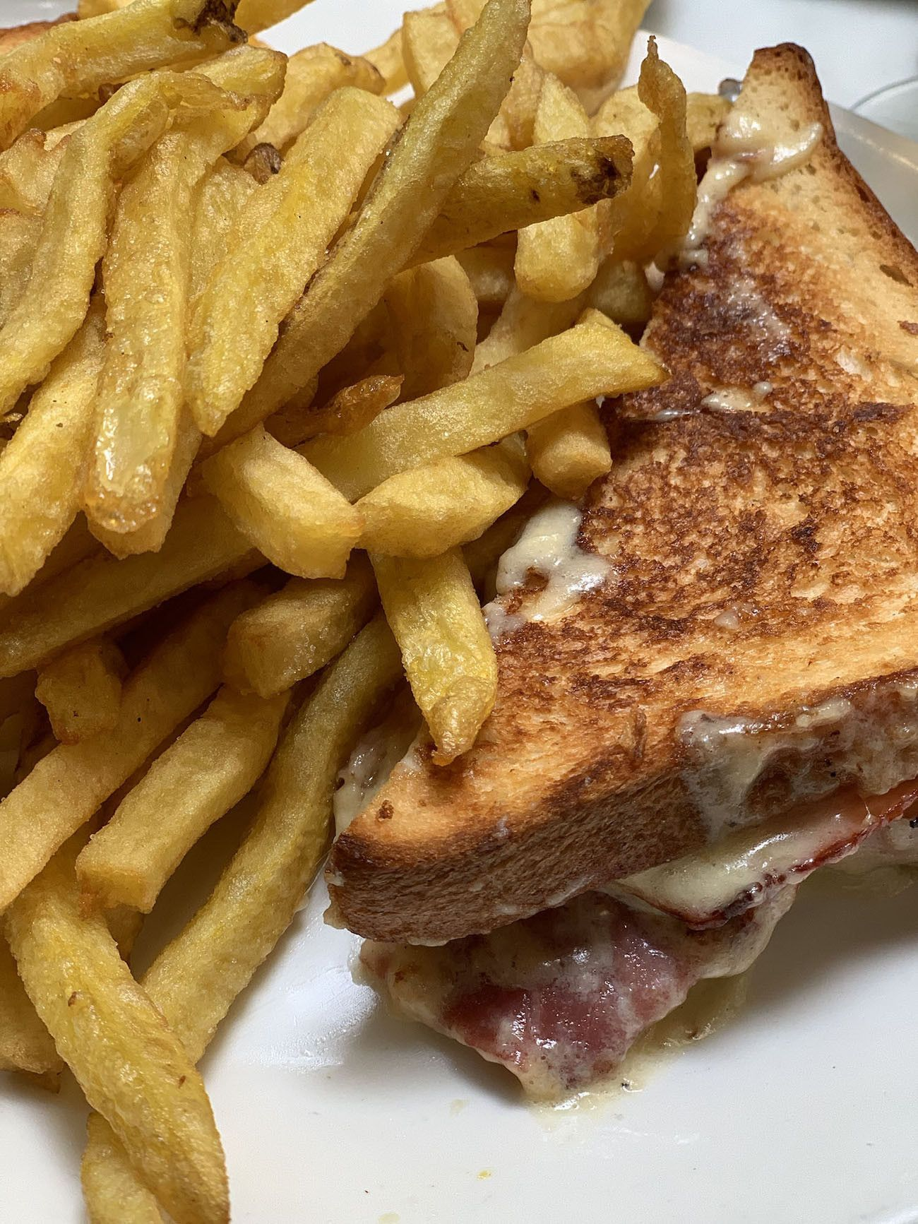 Foodblog About Fuel, Paris, Croque Monsieur, Pommes