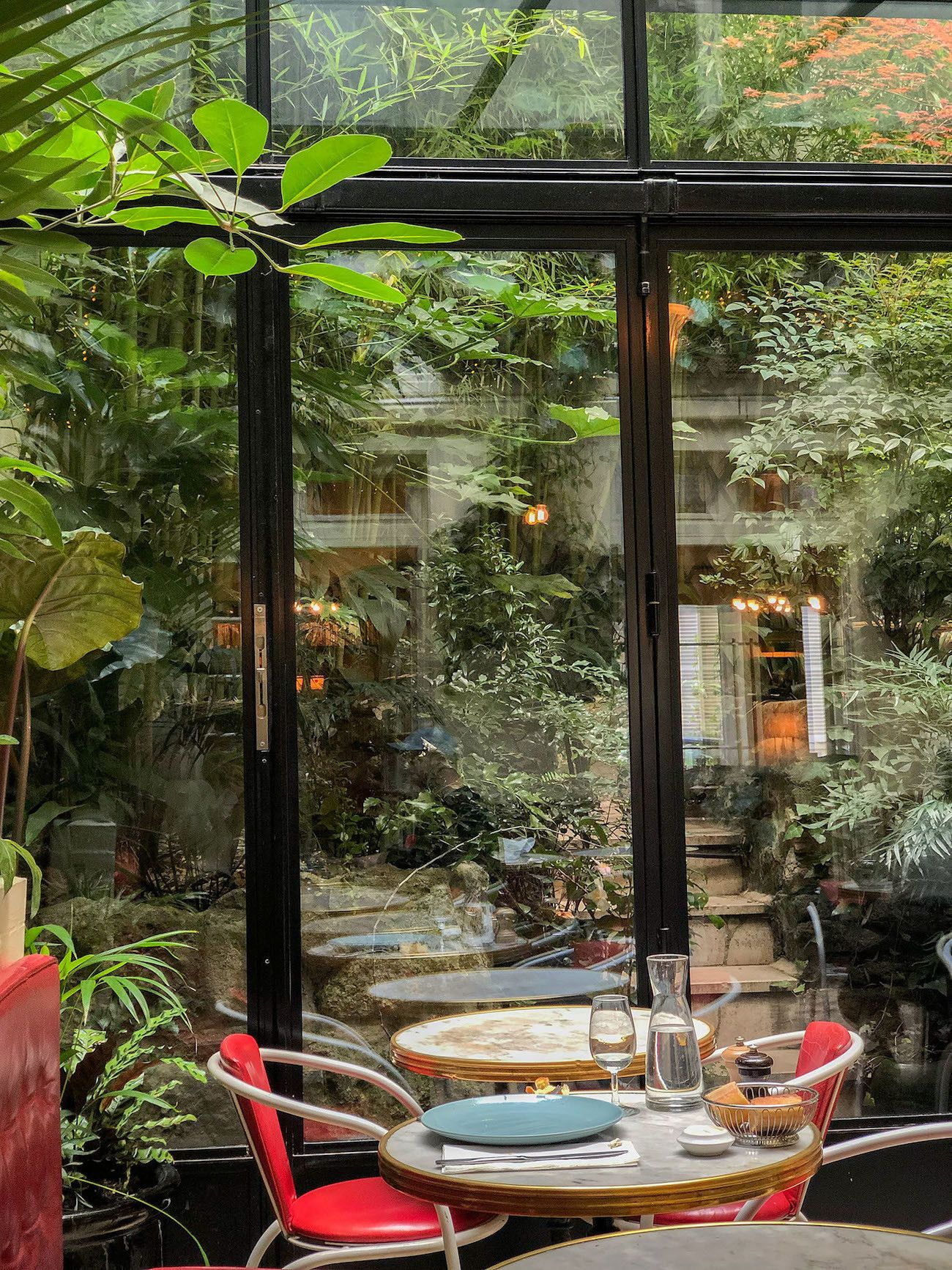 Foodblog About Fuel, Paris, Hotel Amour, Wintergarten