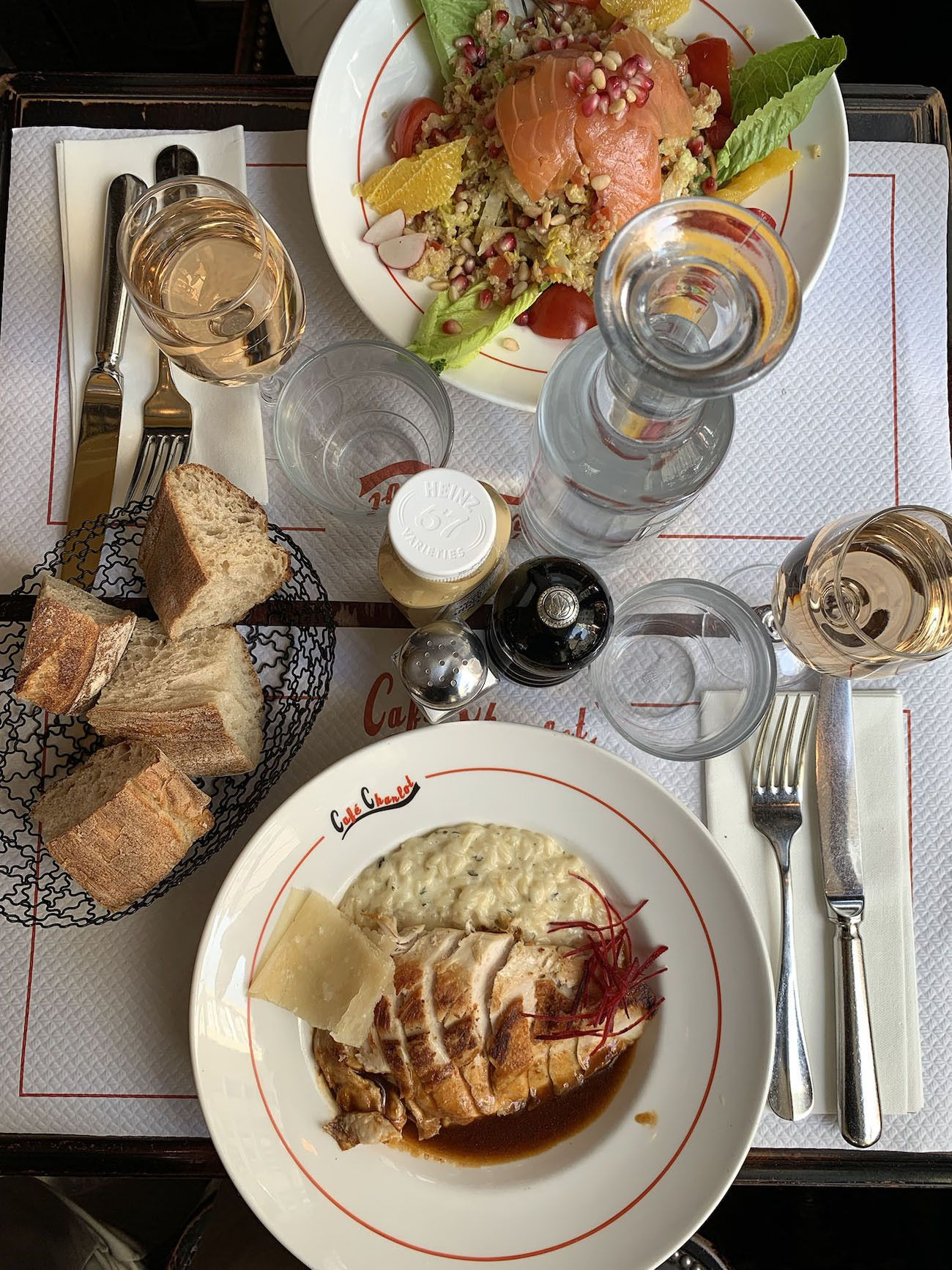 Foodblog About Fuel, Paris, Risotto, Quinoa Salat, Brot