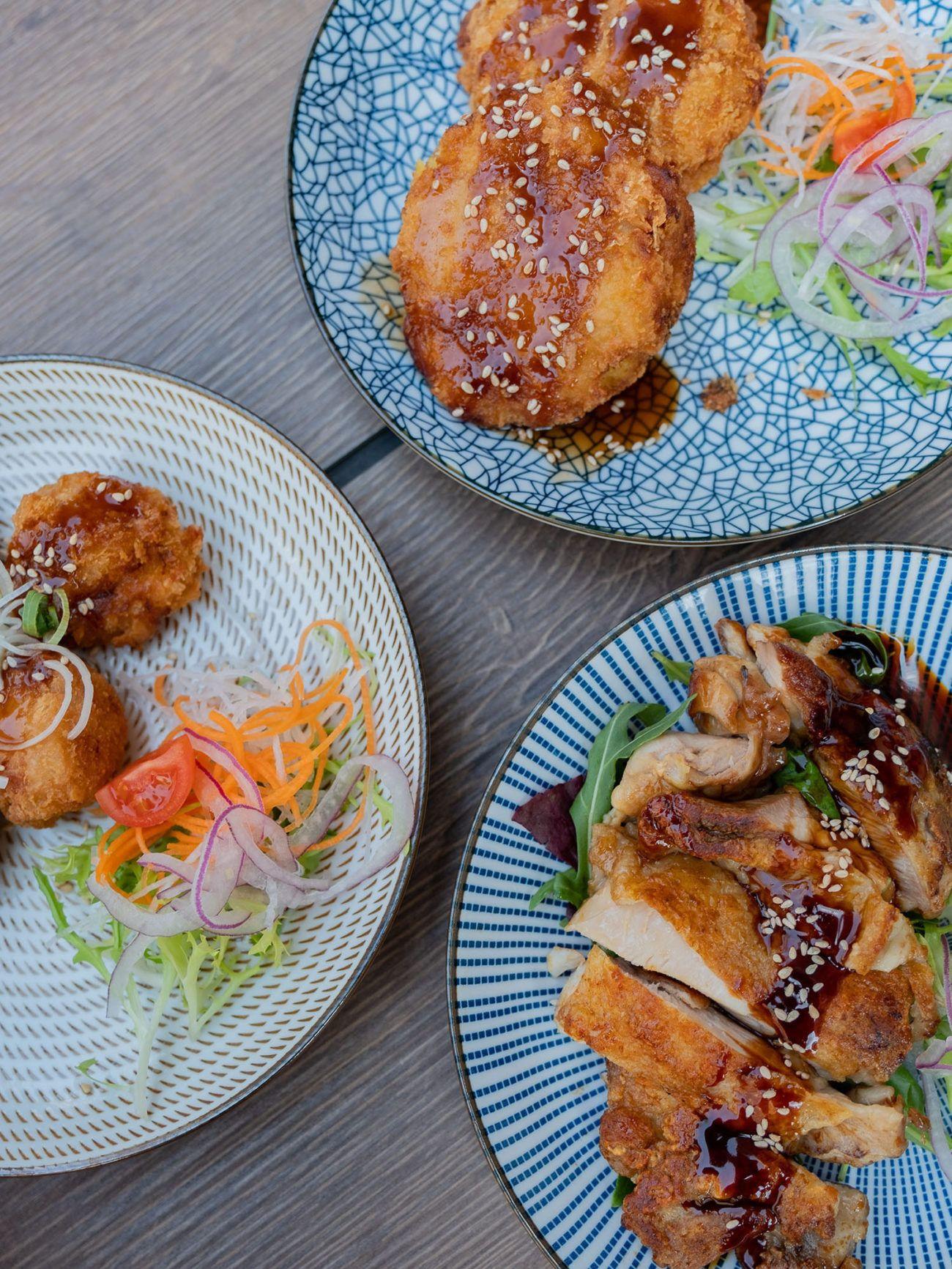 Foodblog About Fuel, Restaurant CHOTTO Berlin, Chicken Teriyaki, Kroketten