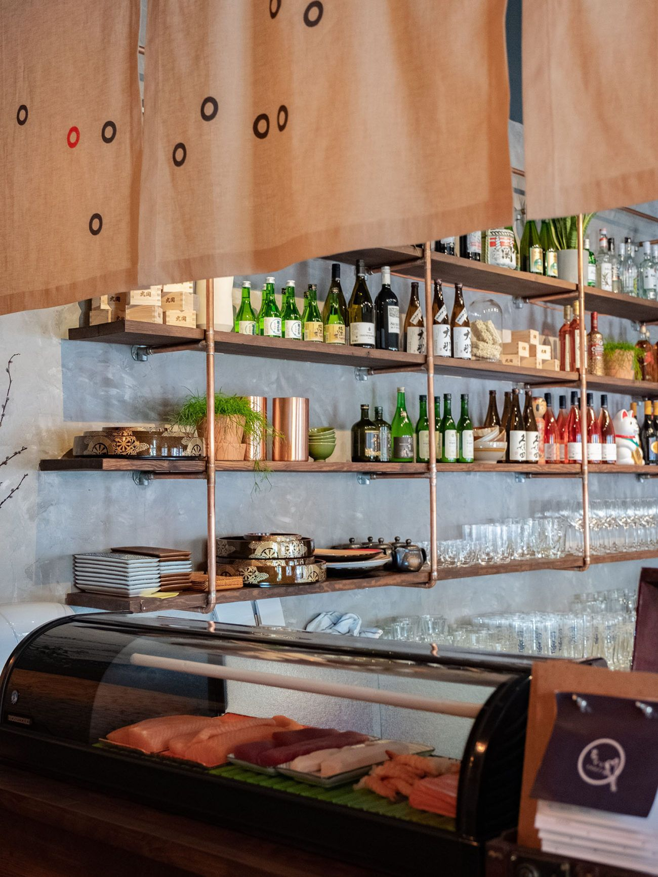 Foodblog About Fuel, Restaurant CHOTTO Berlin, Counter, Bar, Sake