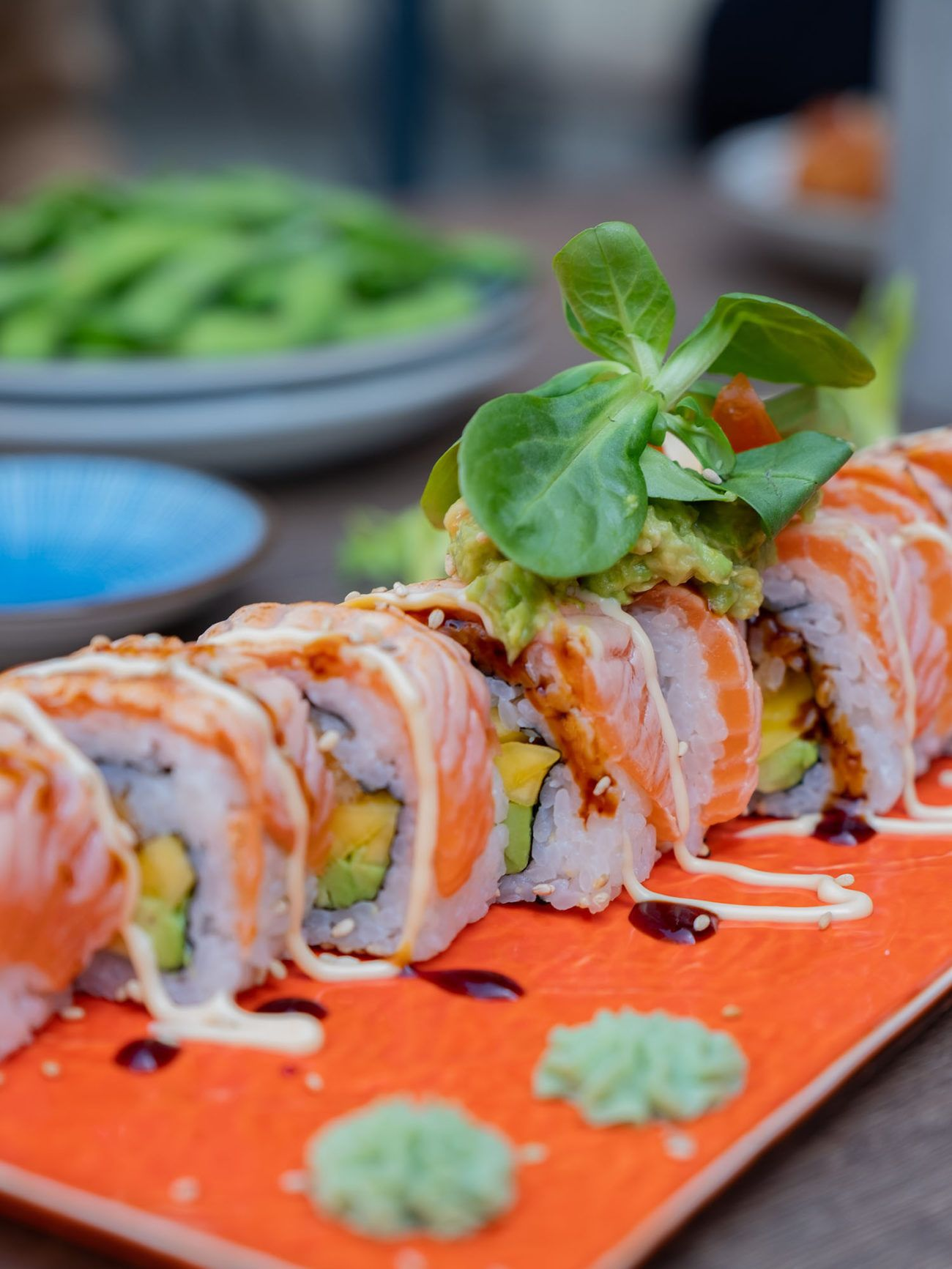 Foodblog About Fuel, Restaurant CHOTTO Berlin, Sushi, California Roll