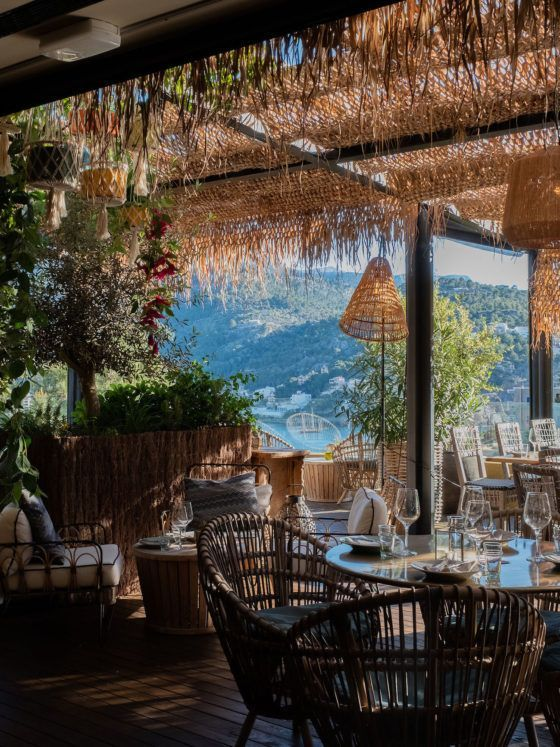 Foodblog About Fuel, Bikini Island & Mountain Hotels, Neni, Terrasse