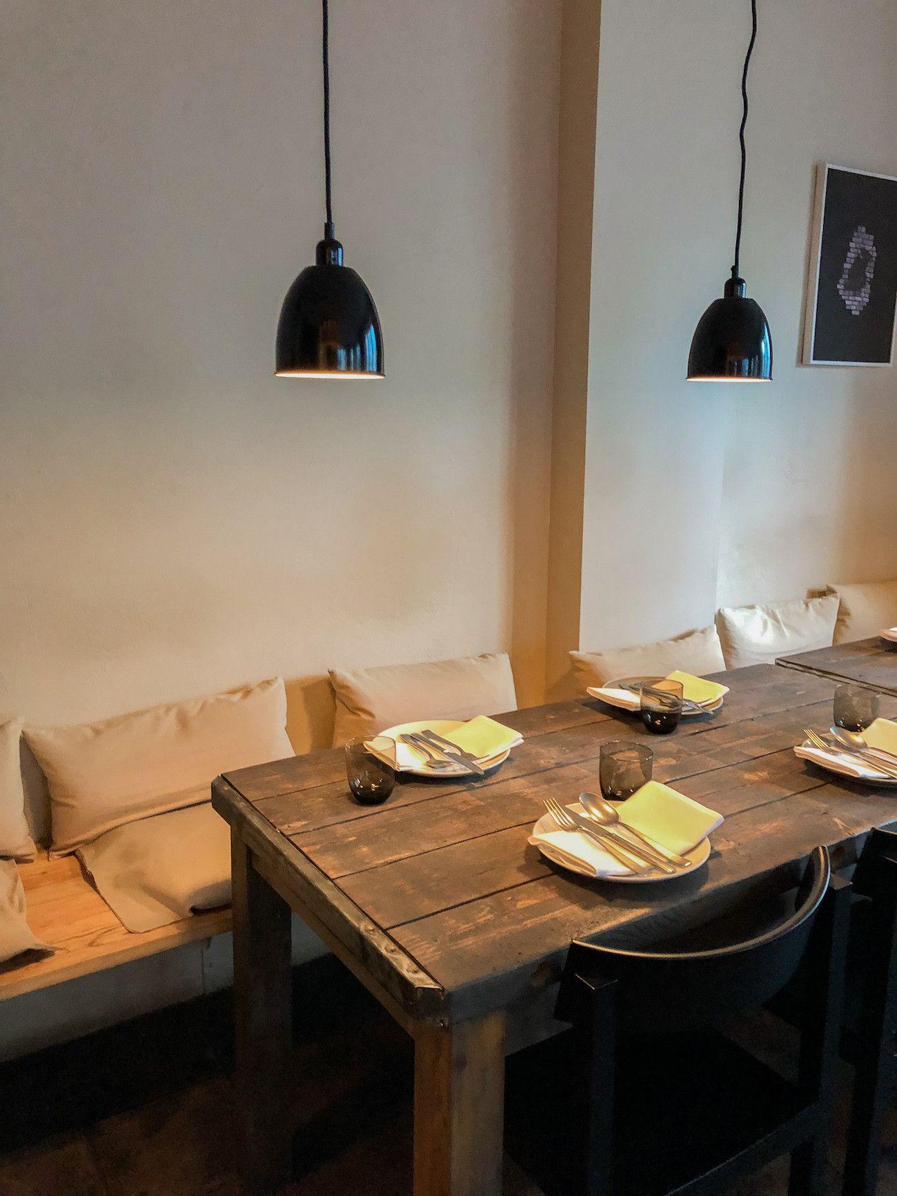 Foodblog, About Fuel, Leckerbissen, Tisk, Restaurtant, Interieur
