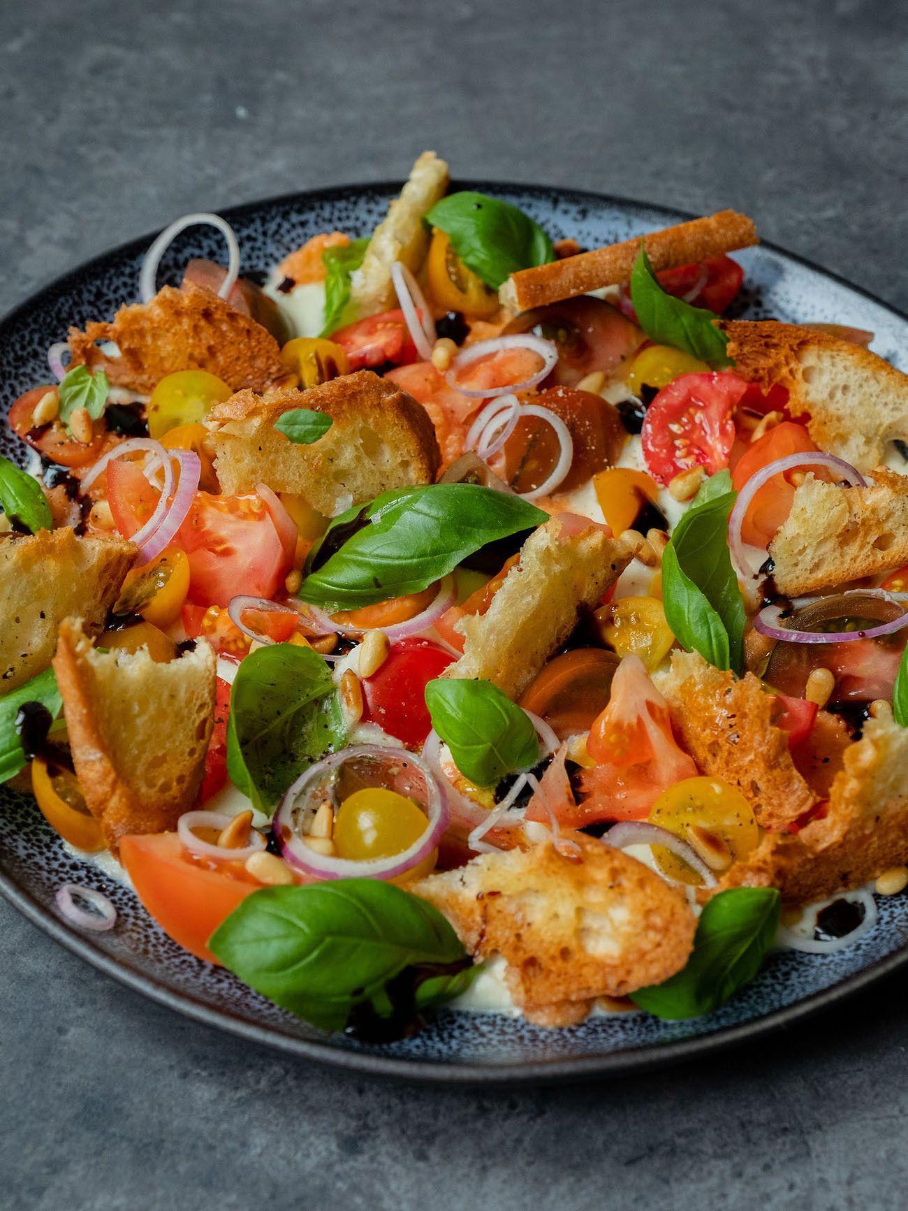 Foodblog, About Fuel, Rezept, Caprese Salat, Basilikum, Balsamico, Mozzarella