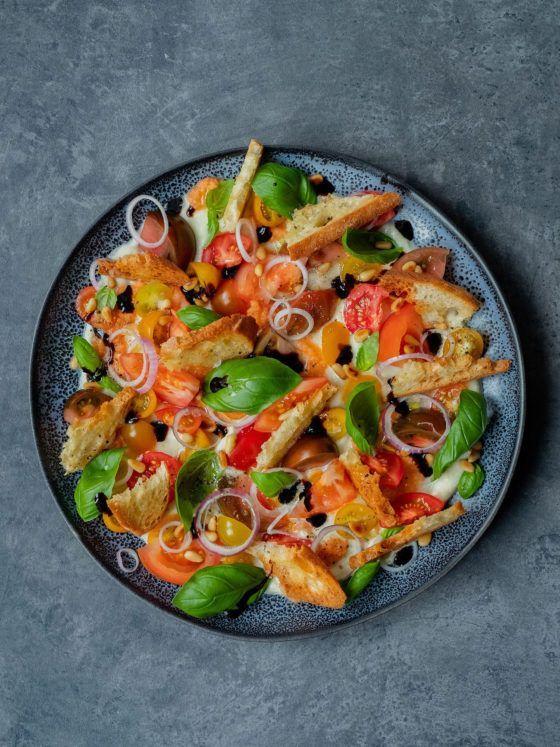 Foodblog, About Fuel, Rezept, Caprese Salat, Basilikum, Tomaten, Mozzarella