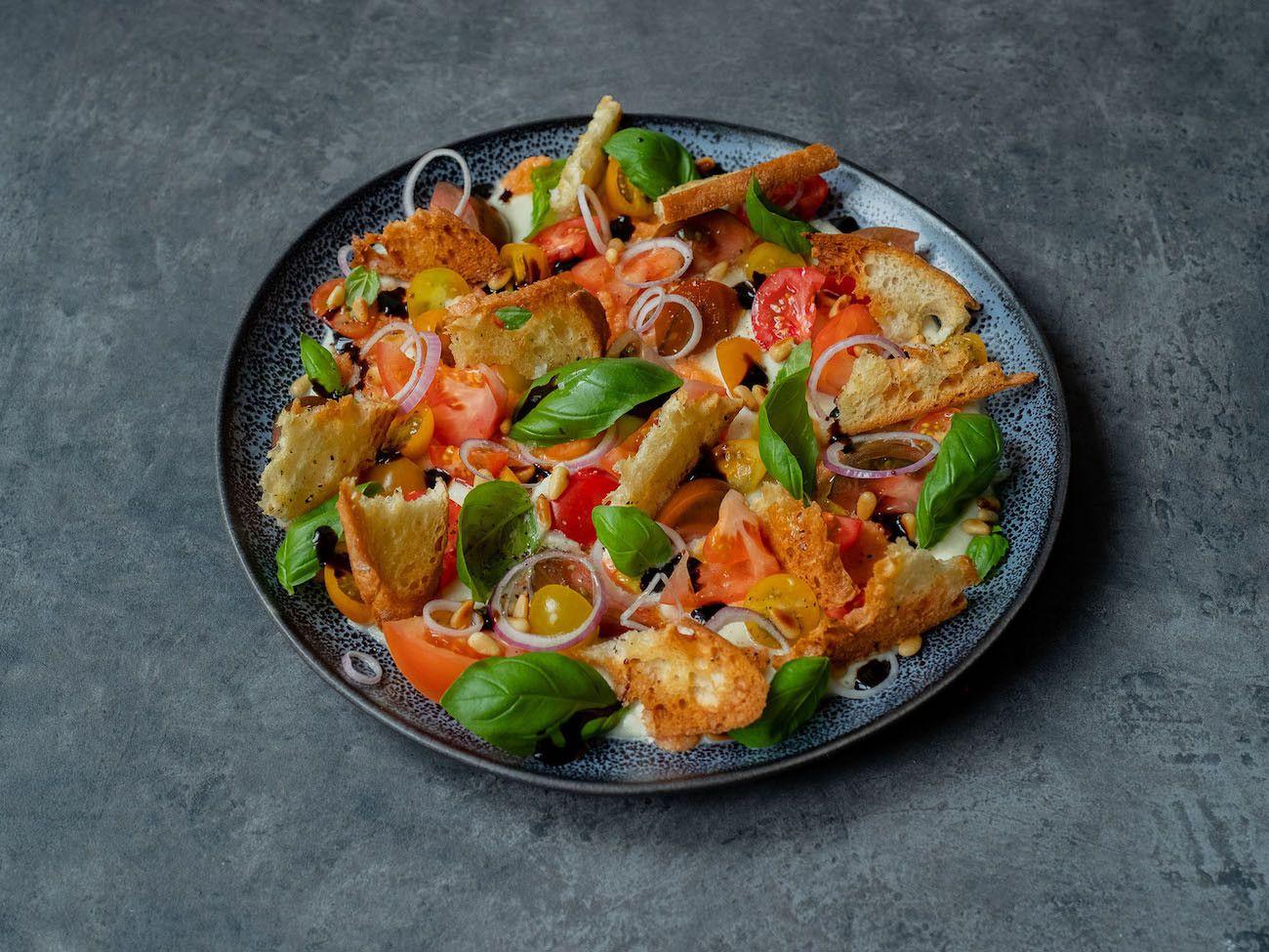 Foodblog, About Fuel, Rezept, Caprese Salat, Mozzarella, Balsamico, Pinienkerne