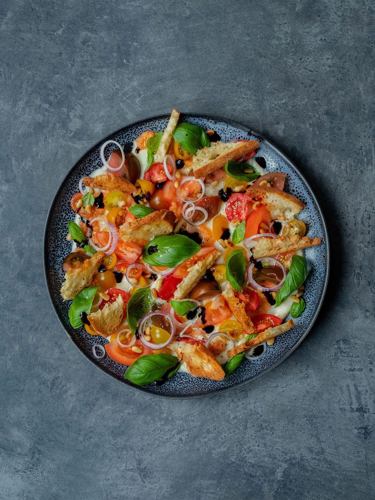 Foodblog, About Fuel, Rezept, Caprese Salat, Tomaten, Basilikum, Nozzarella