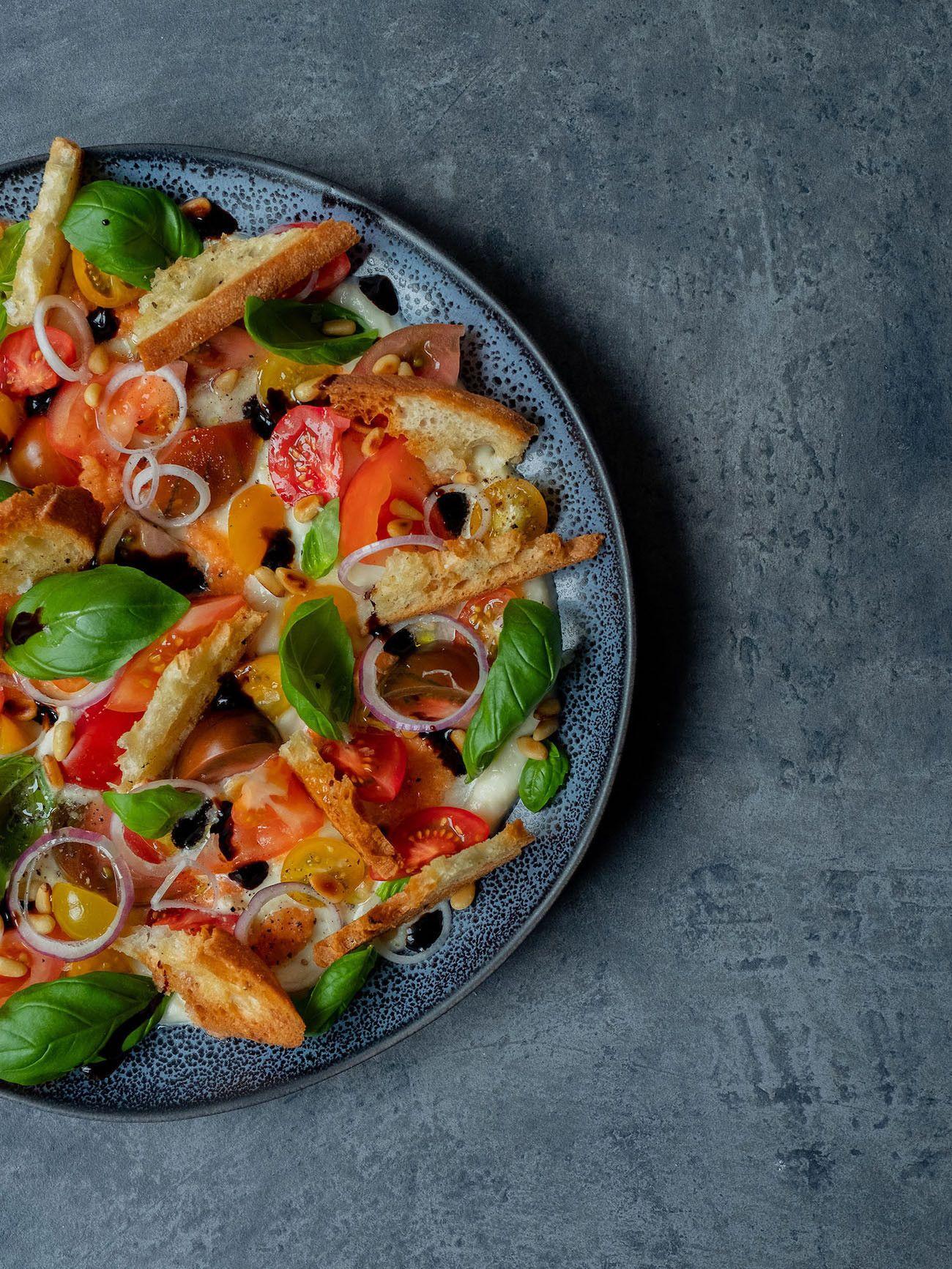 Foodblog, About Fuel, Rezept, Caprese Salat, Tomaten, Mozzarella, Basilikum, Olivenöl