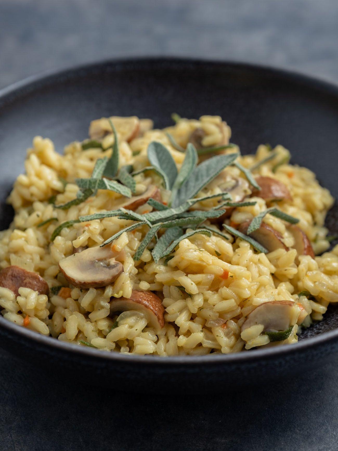 About Fuel, Foodblog, Rezept Champignon Risotto mit Salbei, Vegetarisch