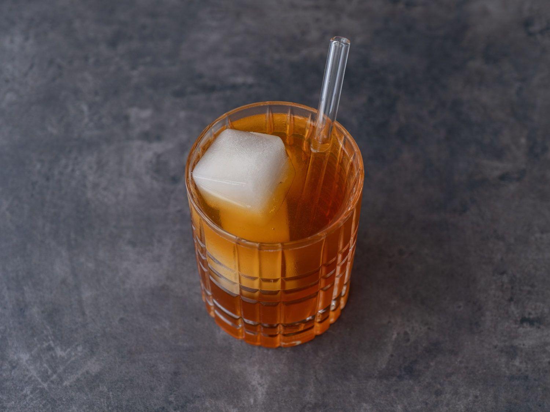 Foodblog, About Fuel, Brandstifter Coffee Tonic, Kornbrand, Eiswürfel