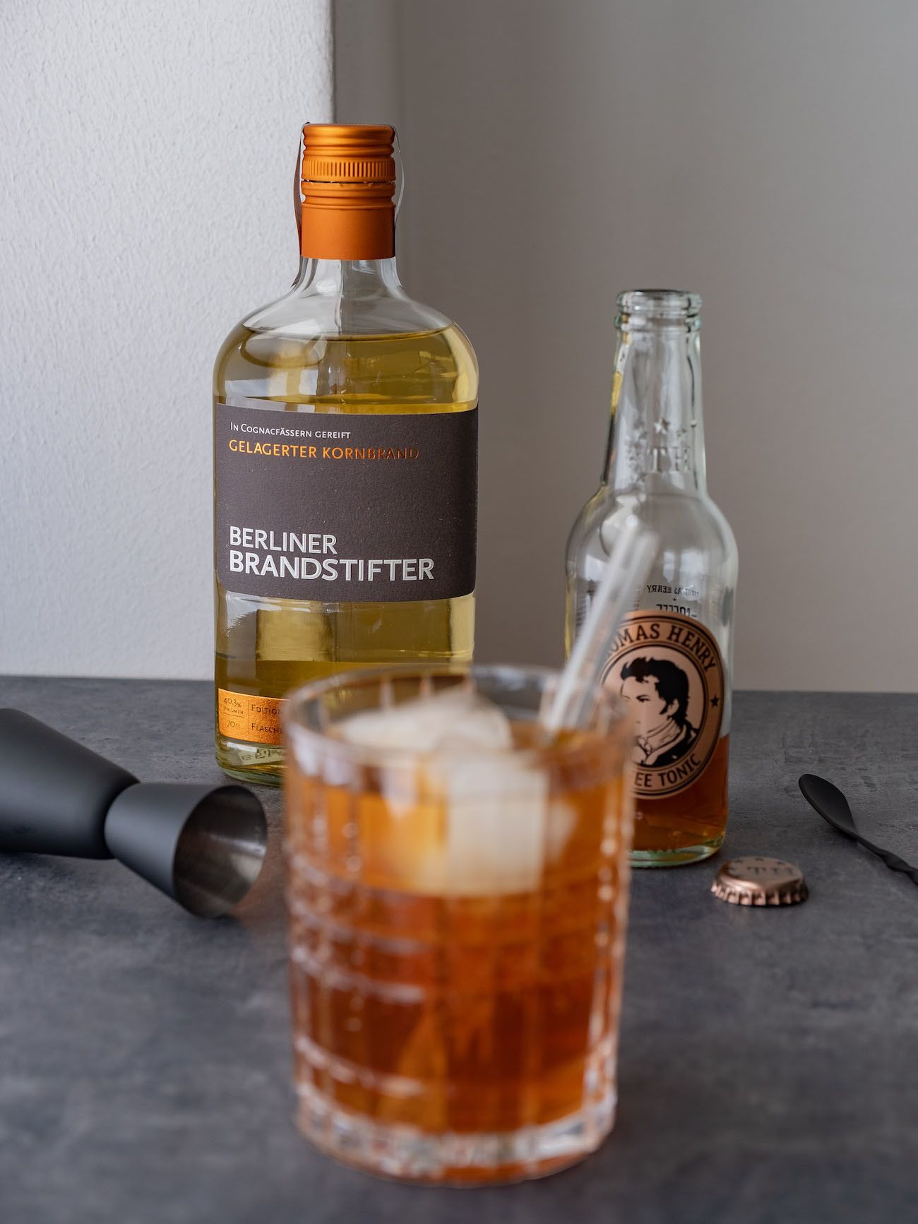 Foodblog, About Fuel, Brandstifter Coffee Tonic, Thomas Henry