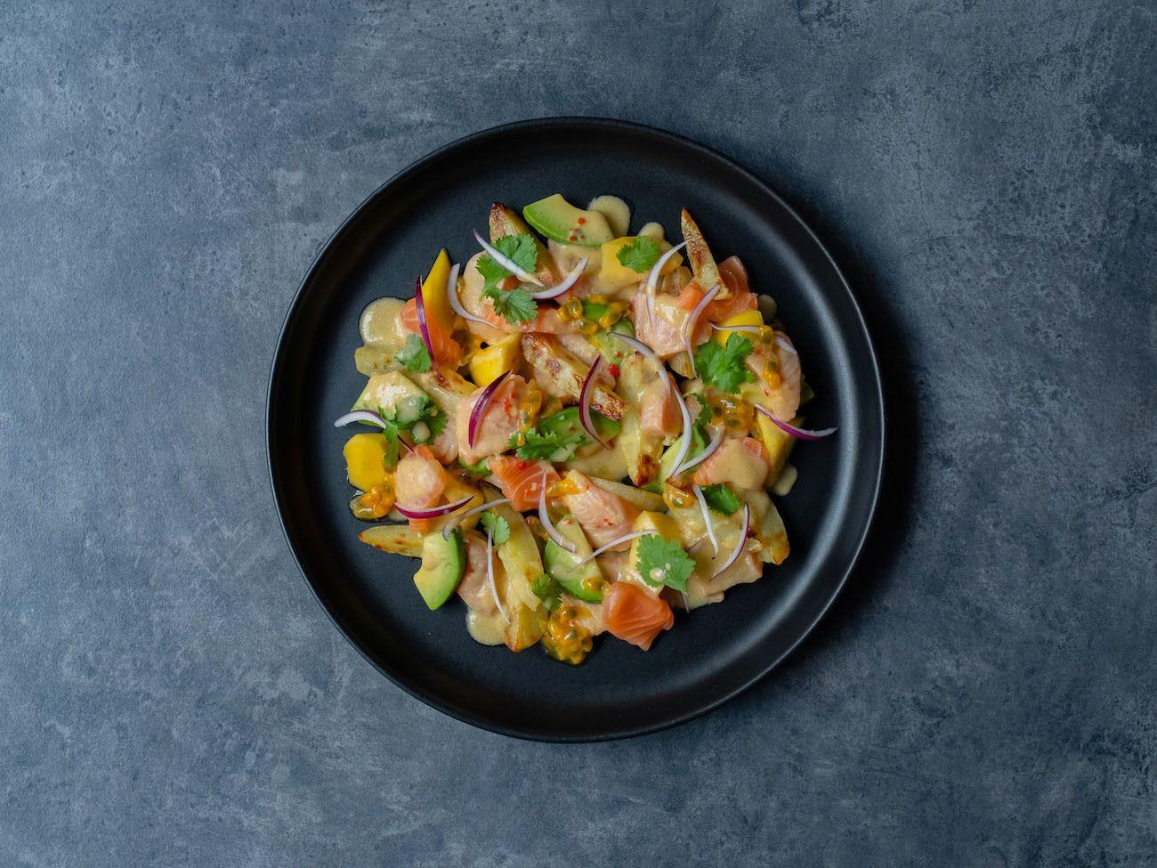 Foodblog, About Fuel, CEVICHE Das Kochbuch, Juan Danilo, Avocado, Habanero Chili, rote Zwiebeln, Mango