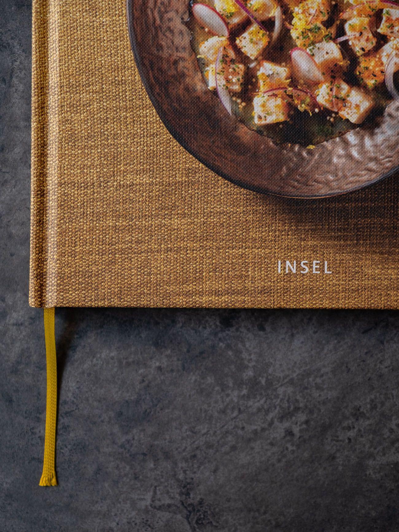 Foodblog, About Fuel, CEVICHE Das Kochbuch, Juan Danilo, Buchcover, Detail, Insel Verlag