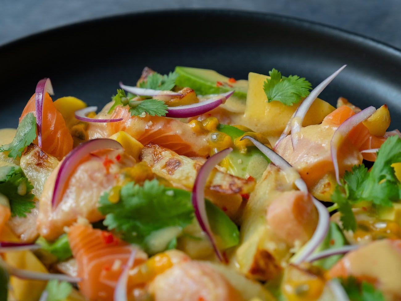 Foodblog, About Fuel, CEVICHE Das Kochbuch, Juan Danilo, Kartoffeln, Mango, Lachs