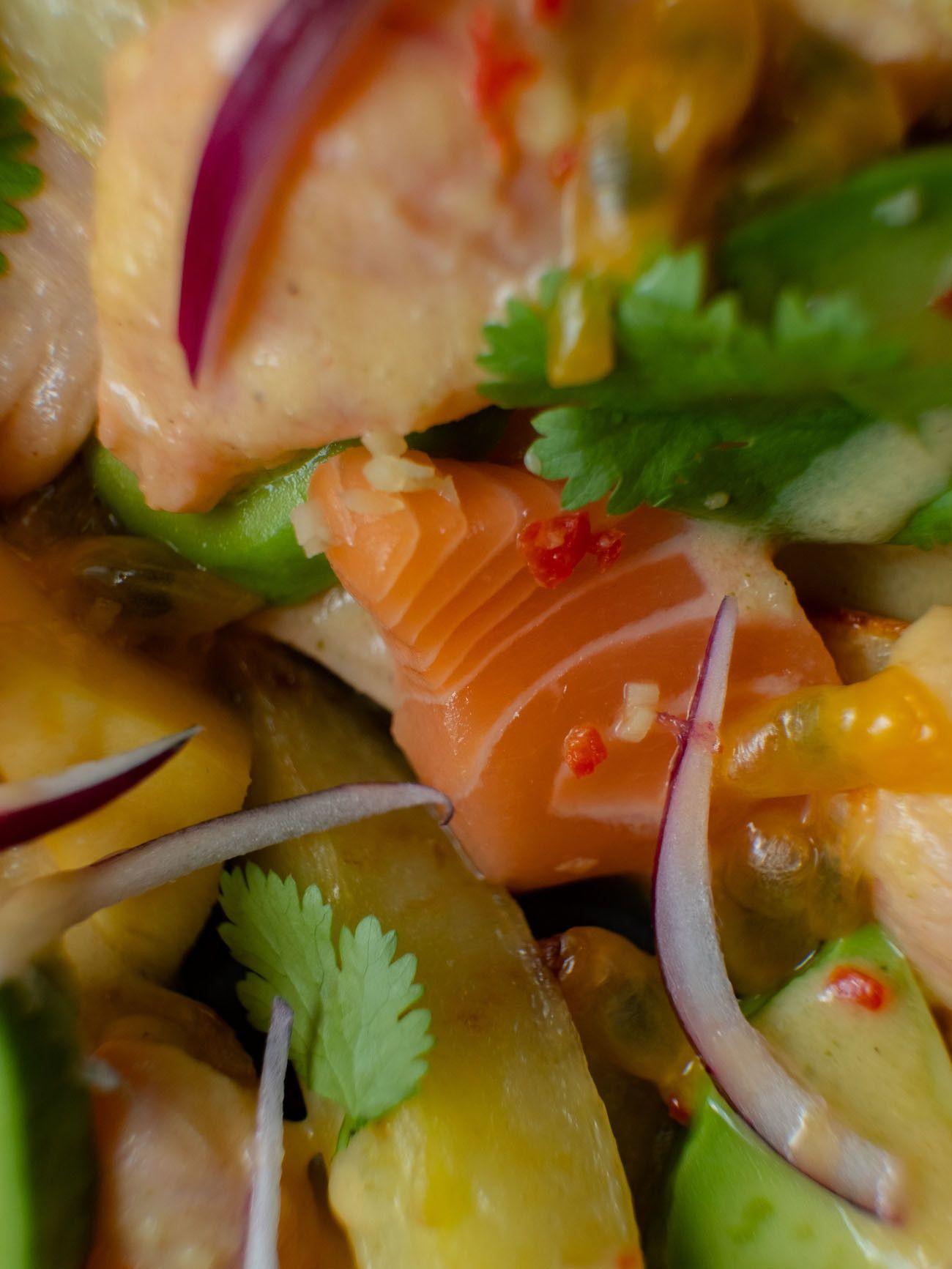 Foodblog, About Fuel, CEVICHE Das Kochbuch, Juan Danilo, Lachs, Kartoffeln