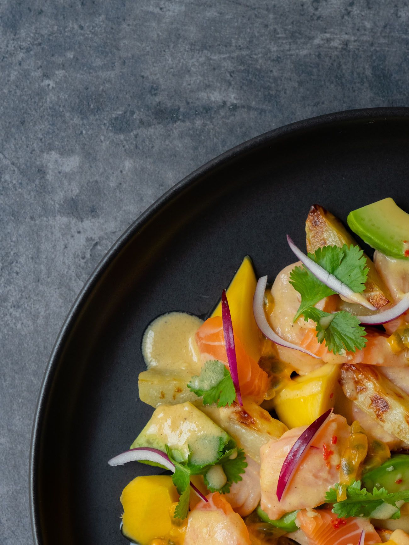 Foodblog, About Fuel, CEVICHE Das Kochbuch, Juan Danilo, Mango, Koriander, Avocado