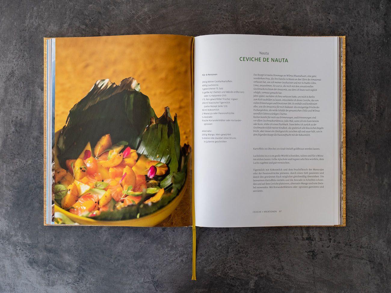 Foodblog, About Fuel, CEVICHE Das Kochbuch, Juan Danilo, Rezept, Ceviche de Nauta, Lachs