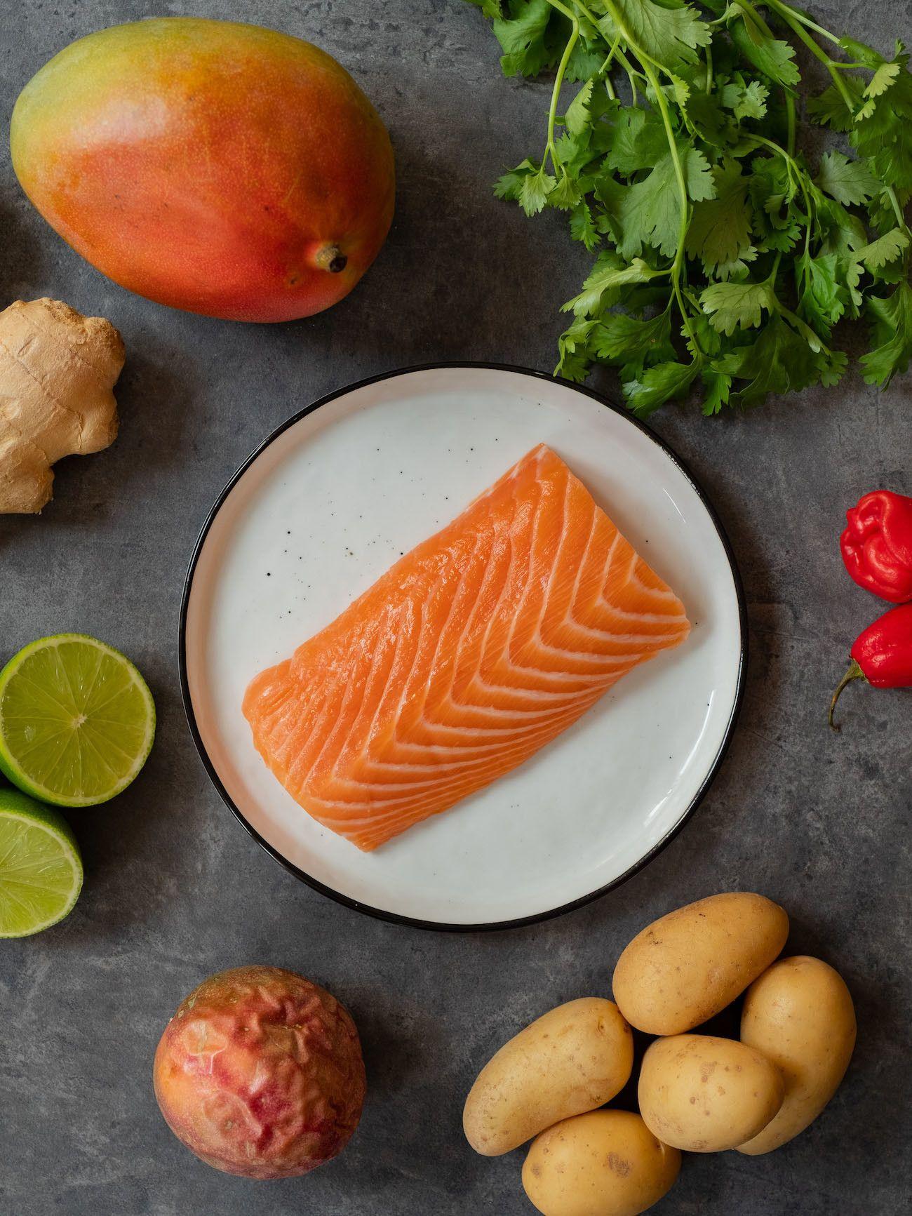 Foodblog, About Fuel, CEVICHE Das Kochbuch, Juan Danilo, Zutaten, Lachs, Mango