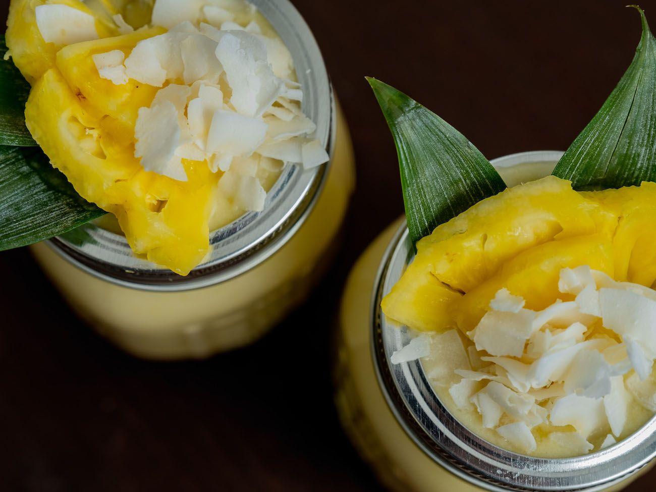 About Fuel, Foodblog, Botucal Banana Colada, Kokoschips, Ananas