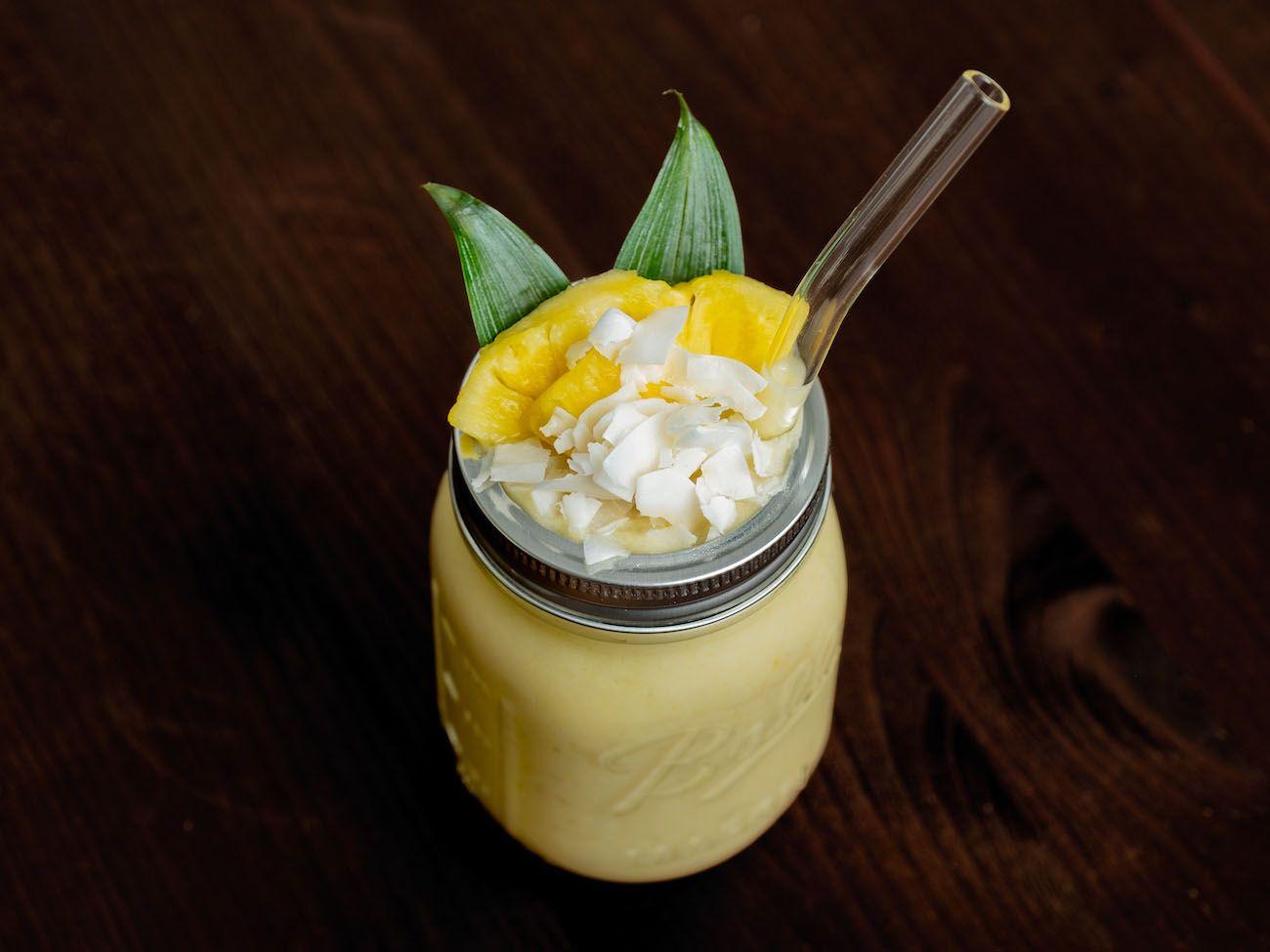 About Fuel, Foodblog, Botucal Banana Colada, Kokoschips