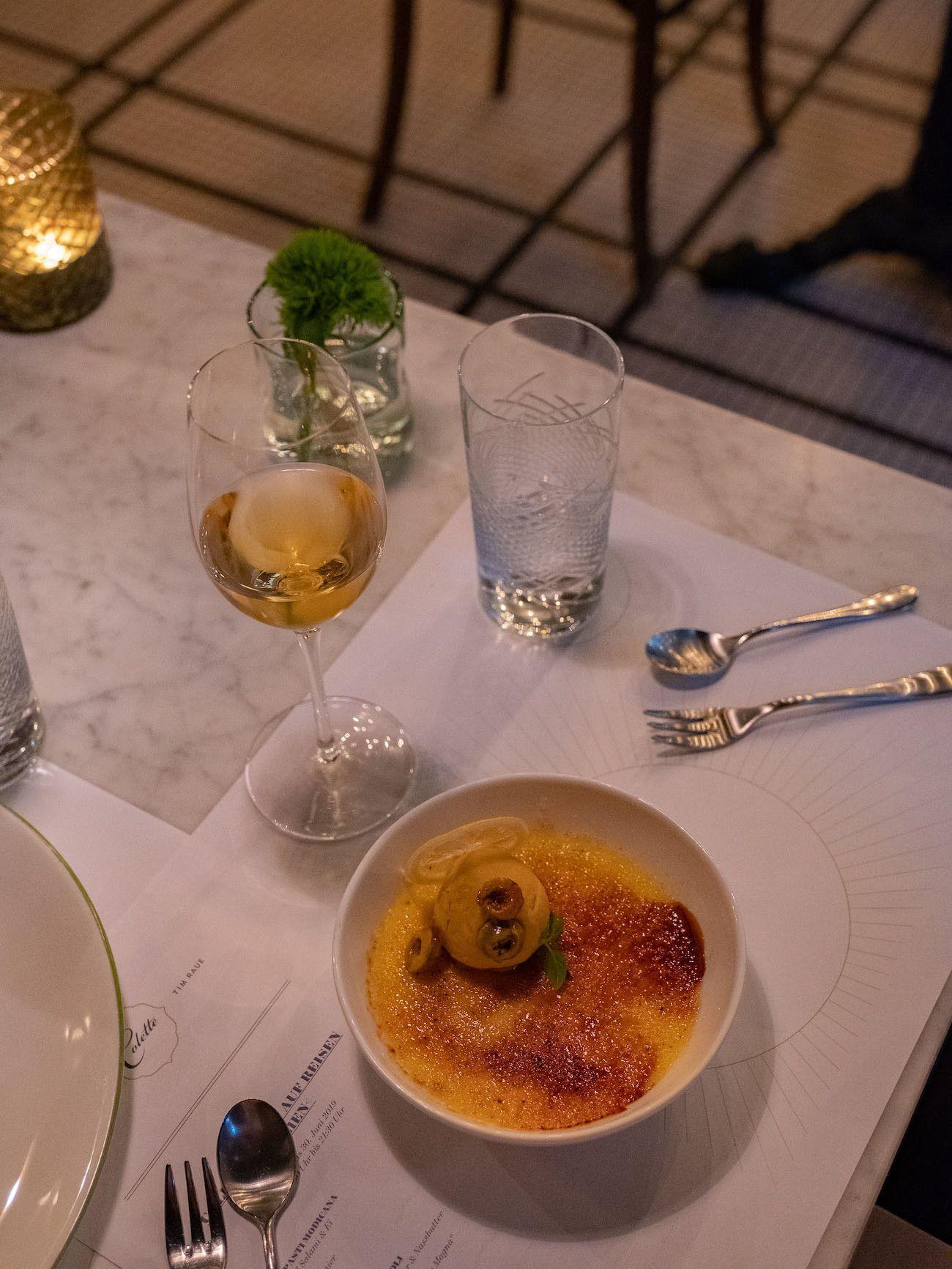 Foodblog, About Fuel, Brasserie Colette Tim Raue, Crème Brûlée