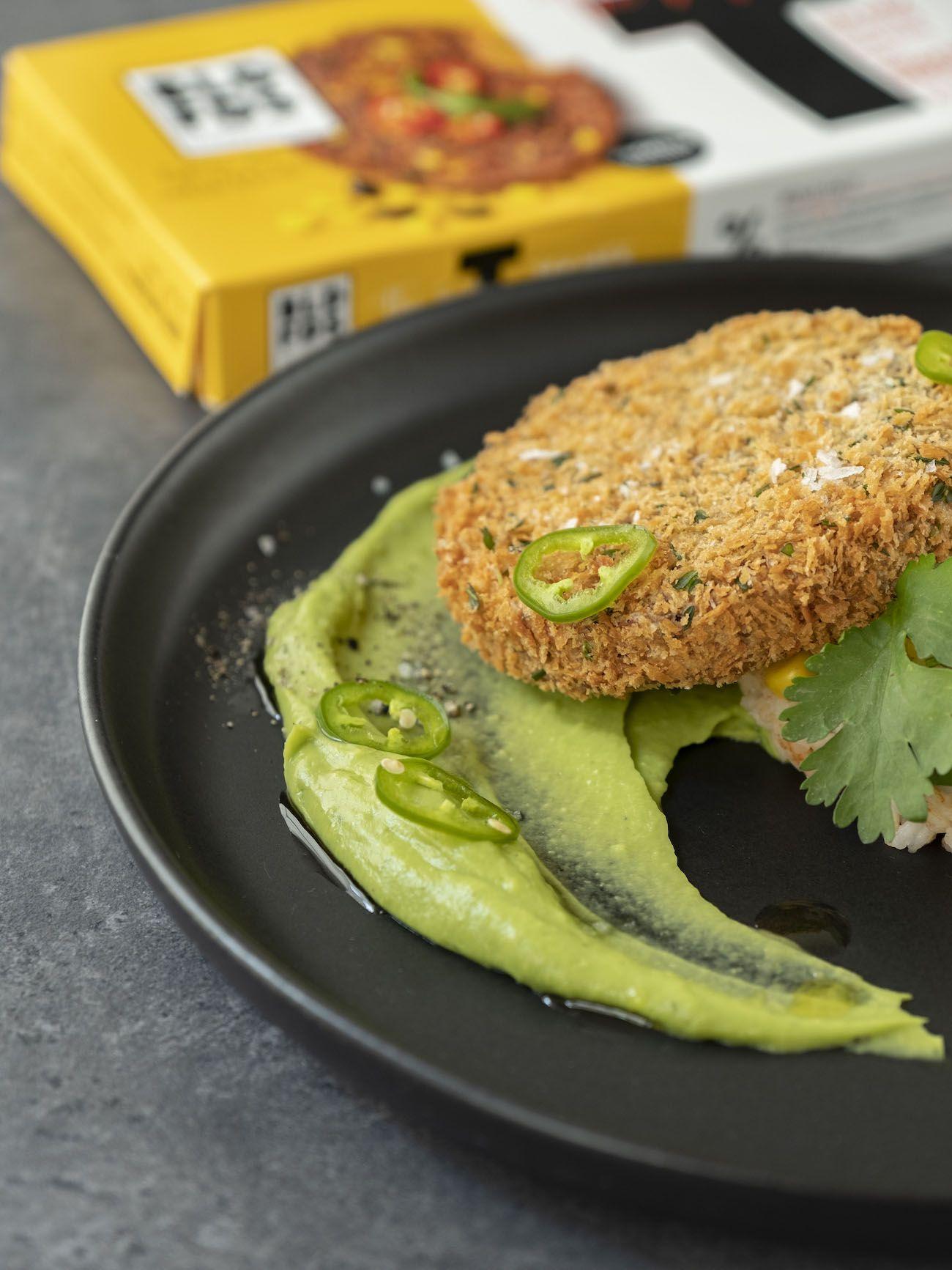 About Fuel, Foodblog, Bold Foods, Rezept, The Big T Schnitzel mit Reis und Avocadocreme, Jalapeño