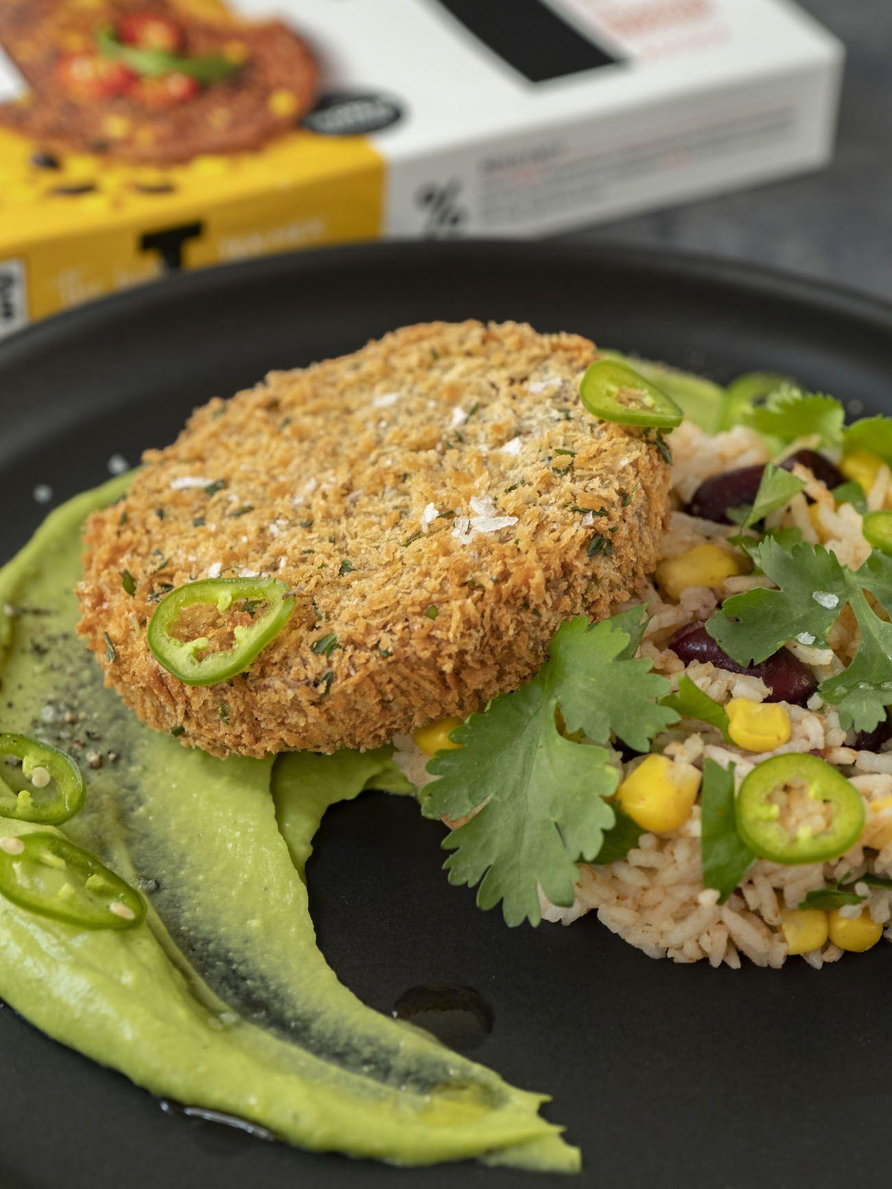 About Fuel, Foodblog, Bold Foods, Rezept, The Big T Schnitzel mit Reis und Avocadocreme, Panko, Jalapeño, Salz