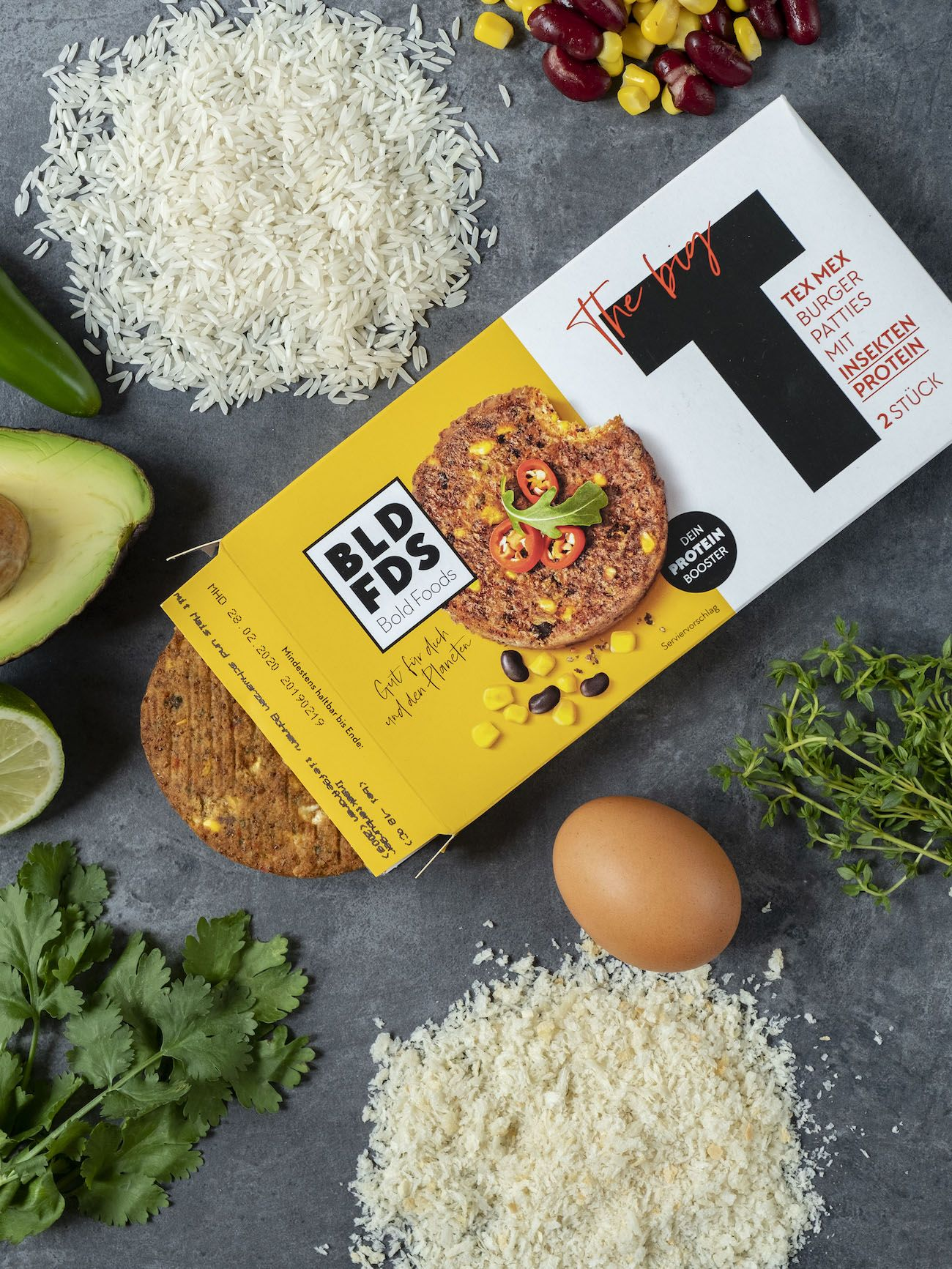 About Fuel, Foodblog, Bold Foods, Rezept, The Big T Schnitzel mit Reis und Avocadocreme, Panko