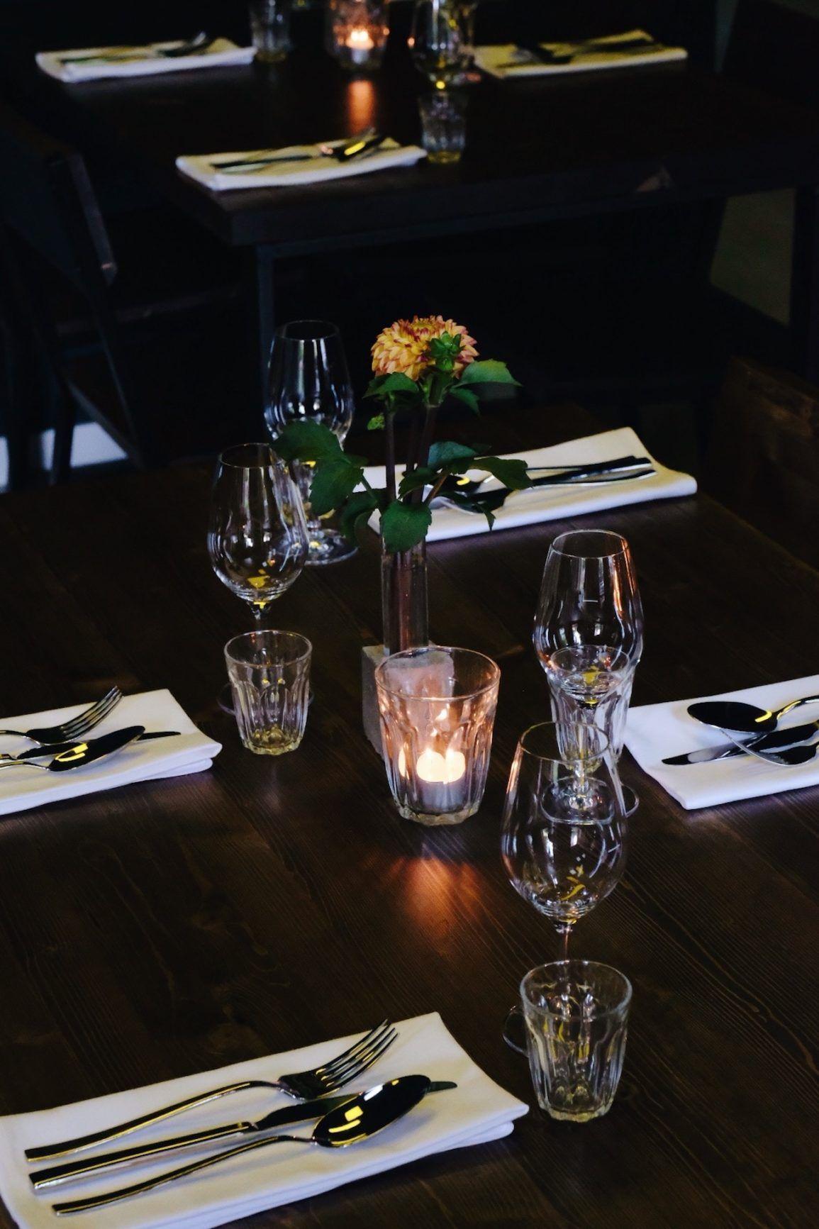 About Fuel, Foodblog, Leckerbissen, Bonvivant, Cocktail-Bistro, Bar, Interior, Kerze